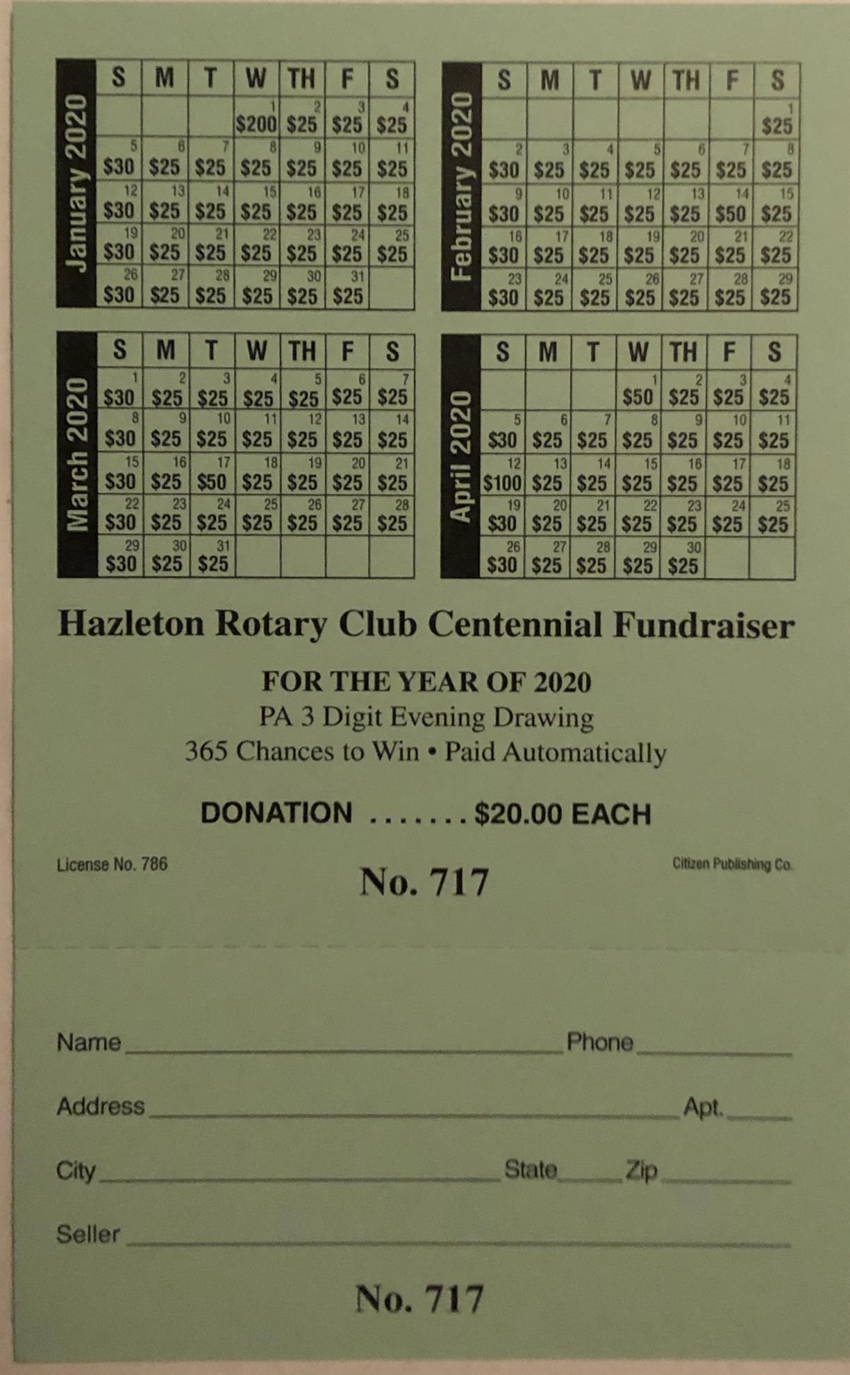 Stories | Rotary Club Of Hazleton With Regard To Hazleton Area Academic Calendar