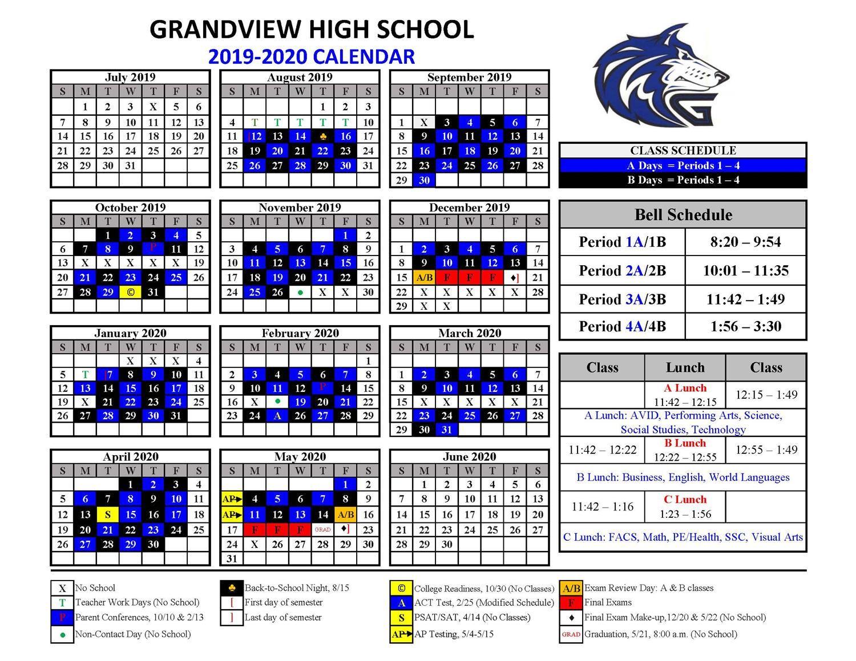 Students / Blue/black Calendar Inside Walnut Hills Highchool Calendar