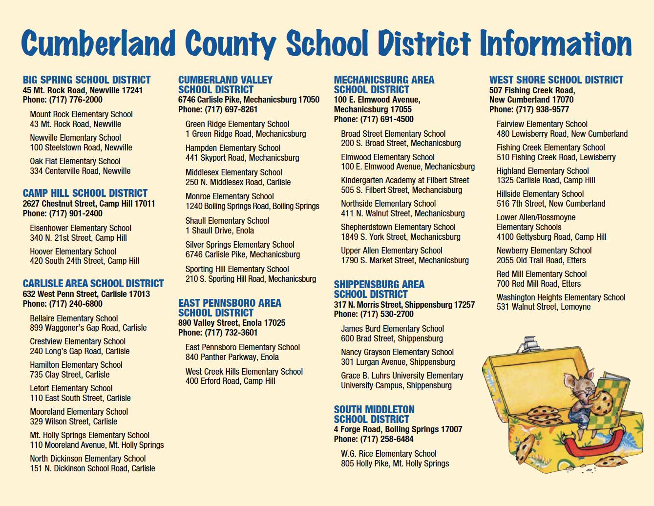 Success6 Calendar – Carlisle United Way Within Cumberland Valley School District Calendar