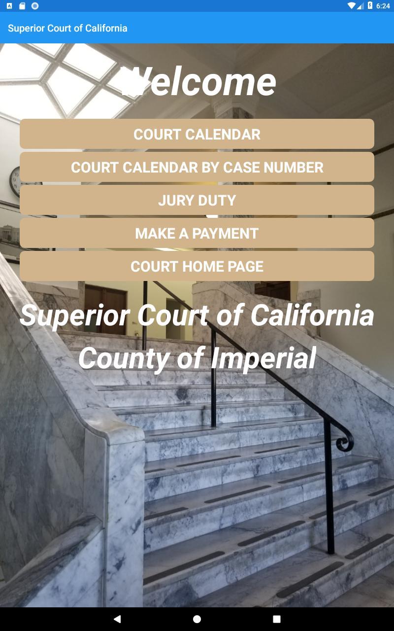 Superior Court Of Ca Imperial Для Андроид - Скачать Apk With Regard To Impeiral County Superior Court Calendar