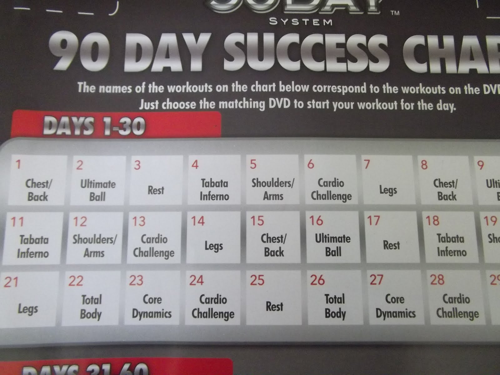 Supreme 90 Day Workout Cardio Challenge - Workoutwalls For 90 Day Supreme Workout Schedule