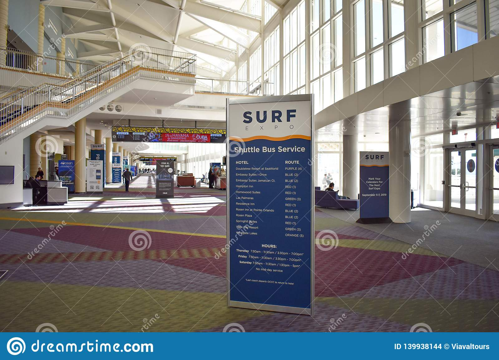 Surf Schedule Expo Sign In Orlando Convention Center At With Orlando Convention Center Schedule
