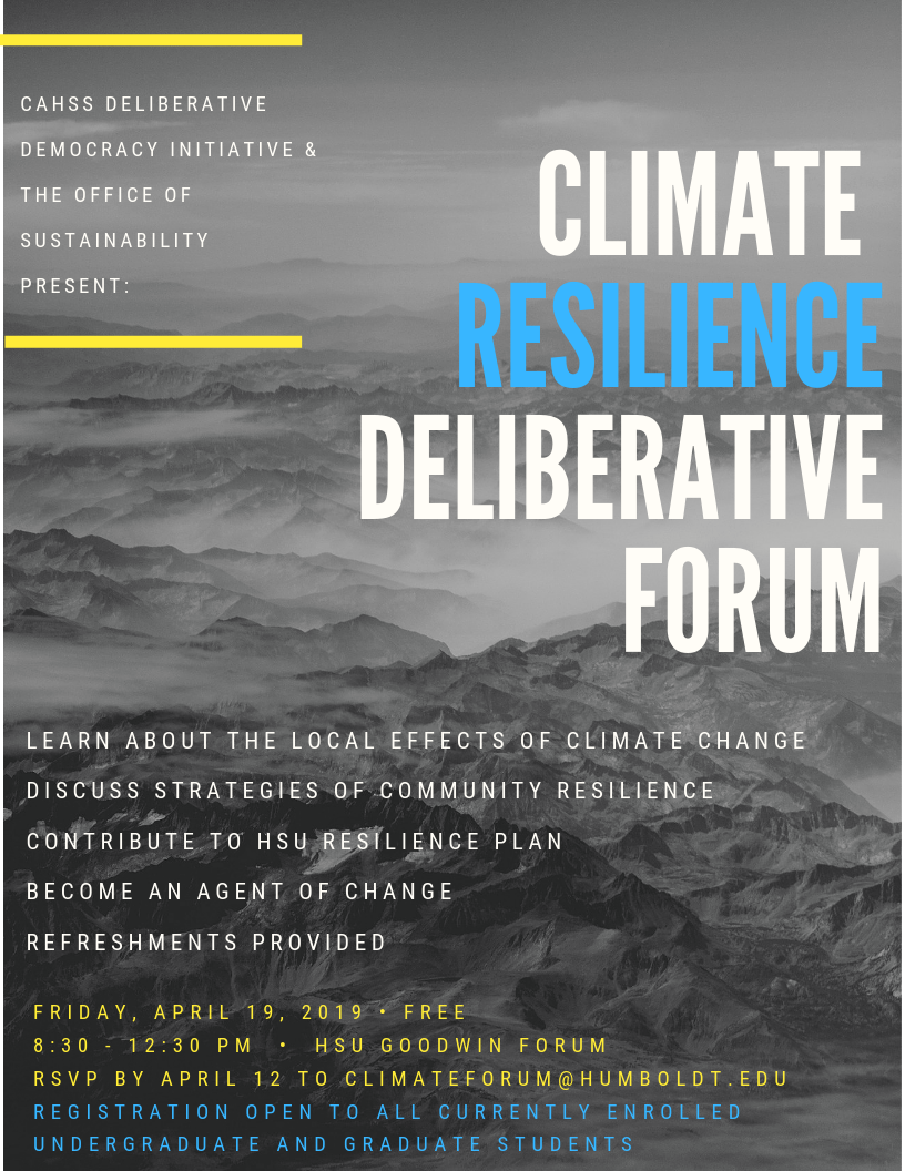 Sustainability: Climate Change Resilience Initiatives With Regard To Humboldt State University Academic Calendar 2021