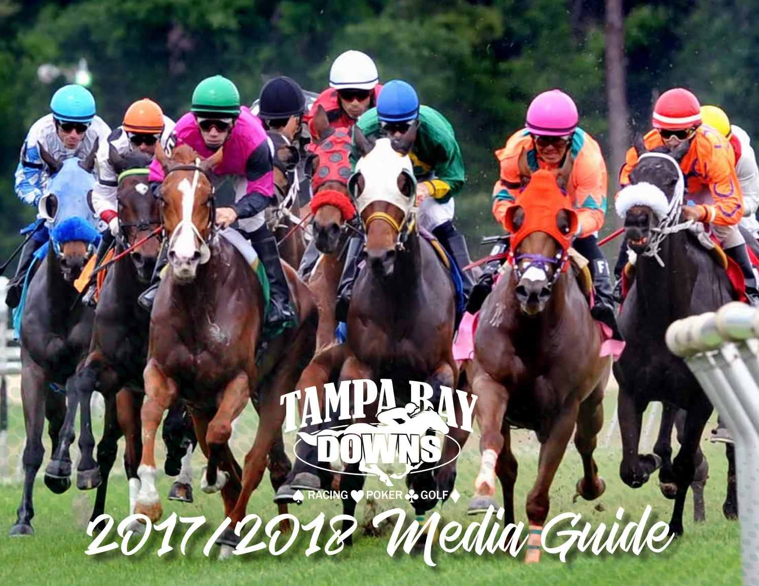 Tampa Bay Downs Media Guide 2017 2018Strops Marketing With Regard To Tampa Bay Downs Race Track Calendar