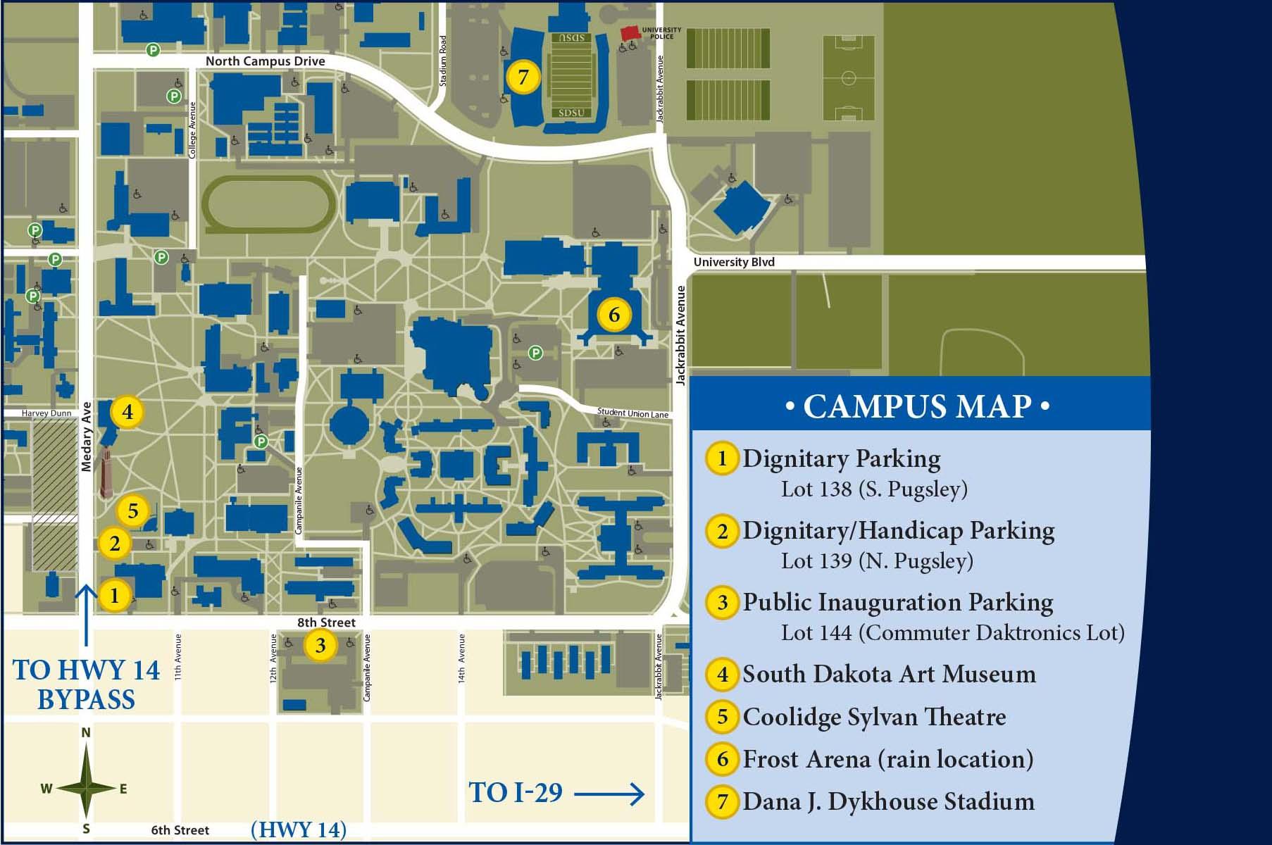 The Inaugural Celebration For Barry H. Dunn   South Dakota Intended For South Dakota State University 2020 Academic Calendar