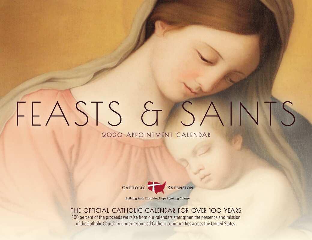 The Official Catholic Calendar For Over 100 Years 2020 Pertaining To Roman Catholic Saint Days Calendar