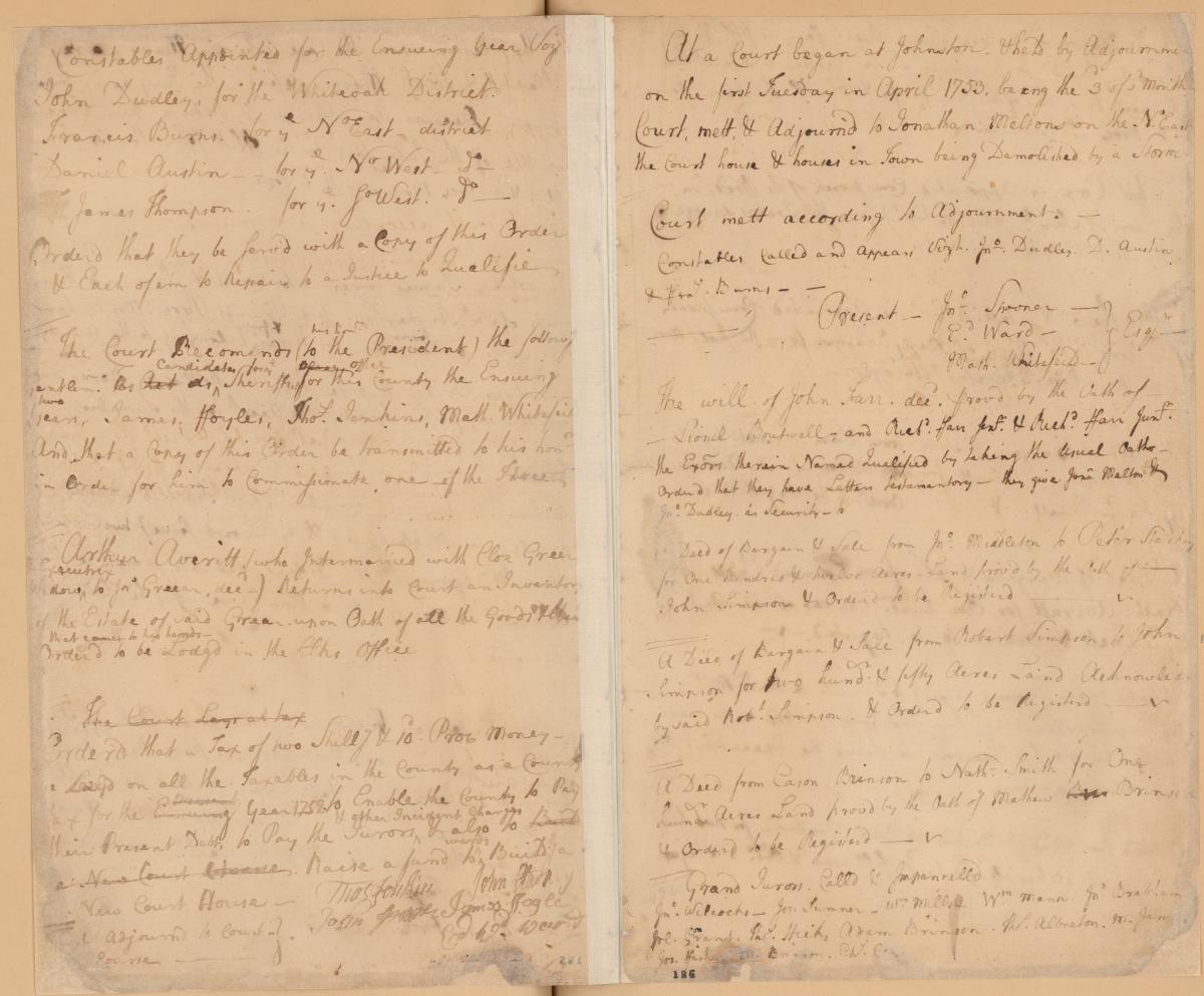 The Storm Of 1752 | Nc Museum Of History With Regard To Onslow County Court Schedule