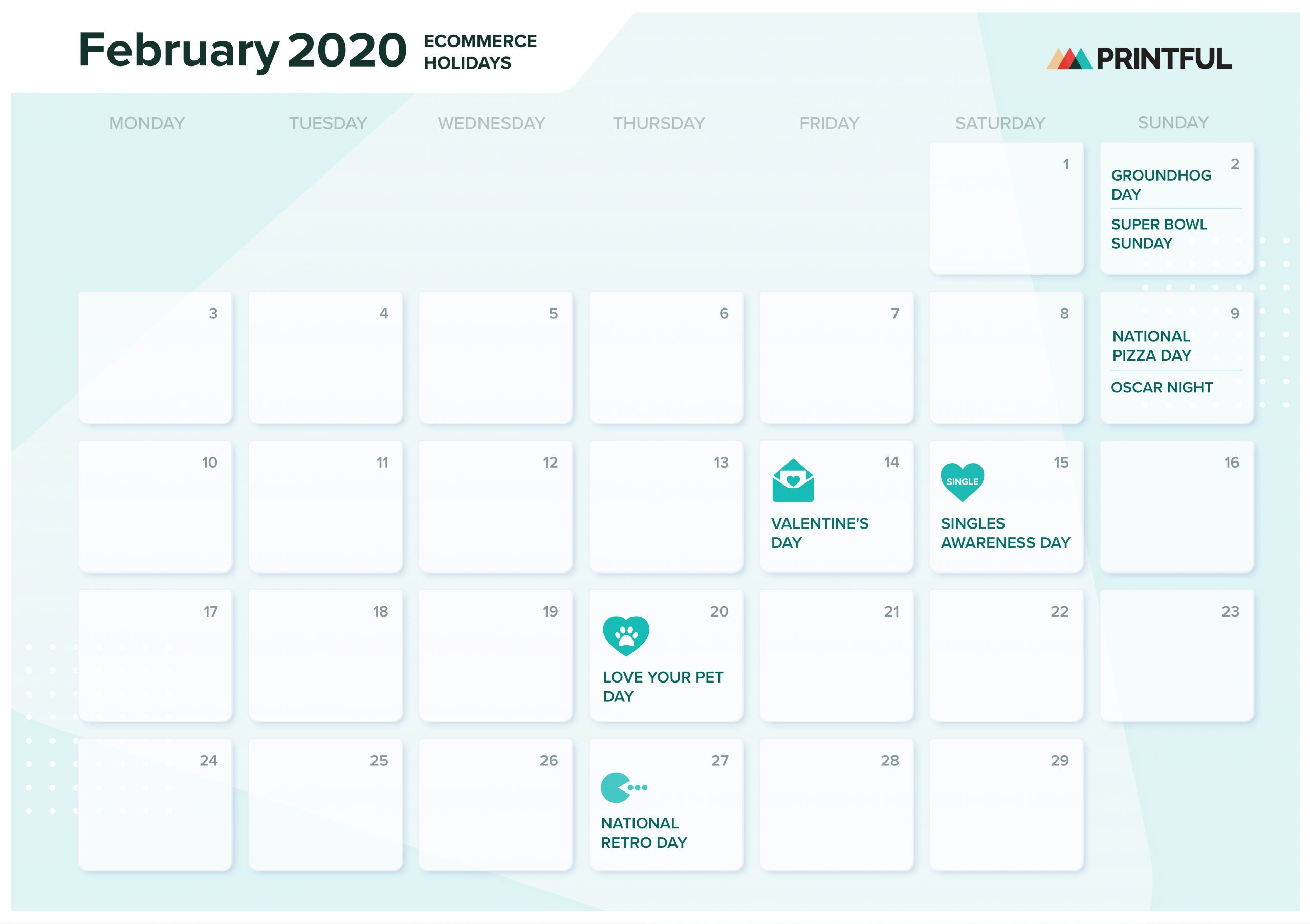 The Ultimate 2020 Ecommerce Holiday Marketing Calendar Regarding Men On A Mission Calendar
