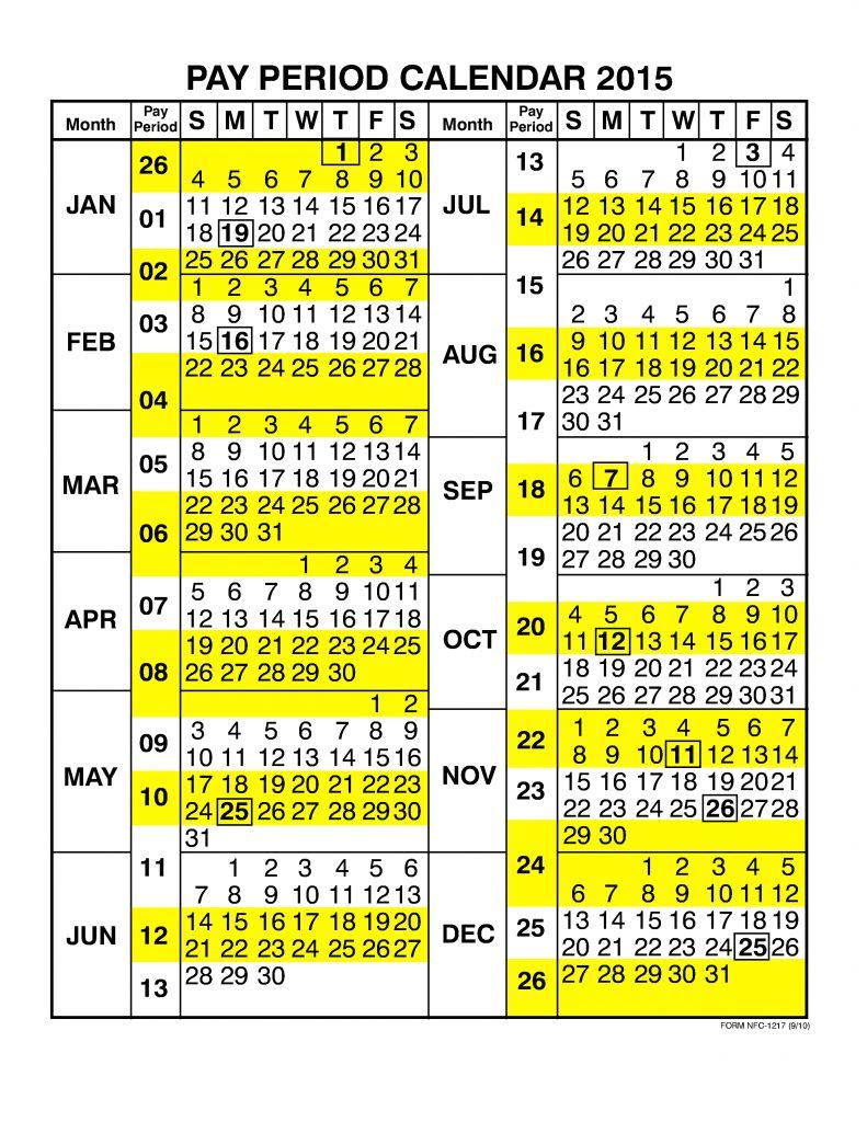 Unique 49 Design Pay Period Calendar | Laboole For 2015 Pay Period Calendar Federal