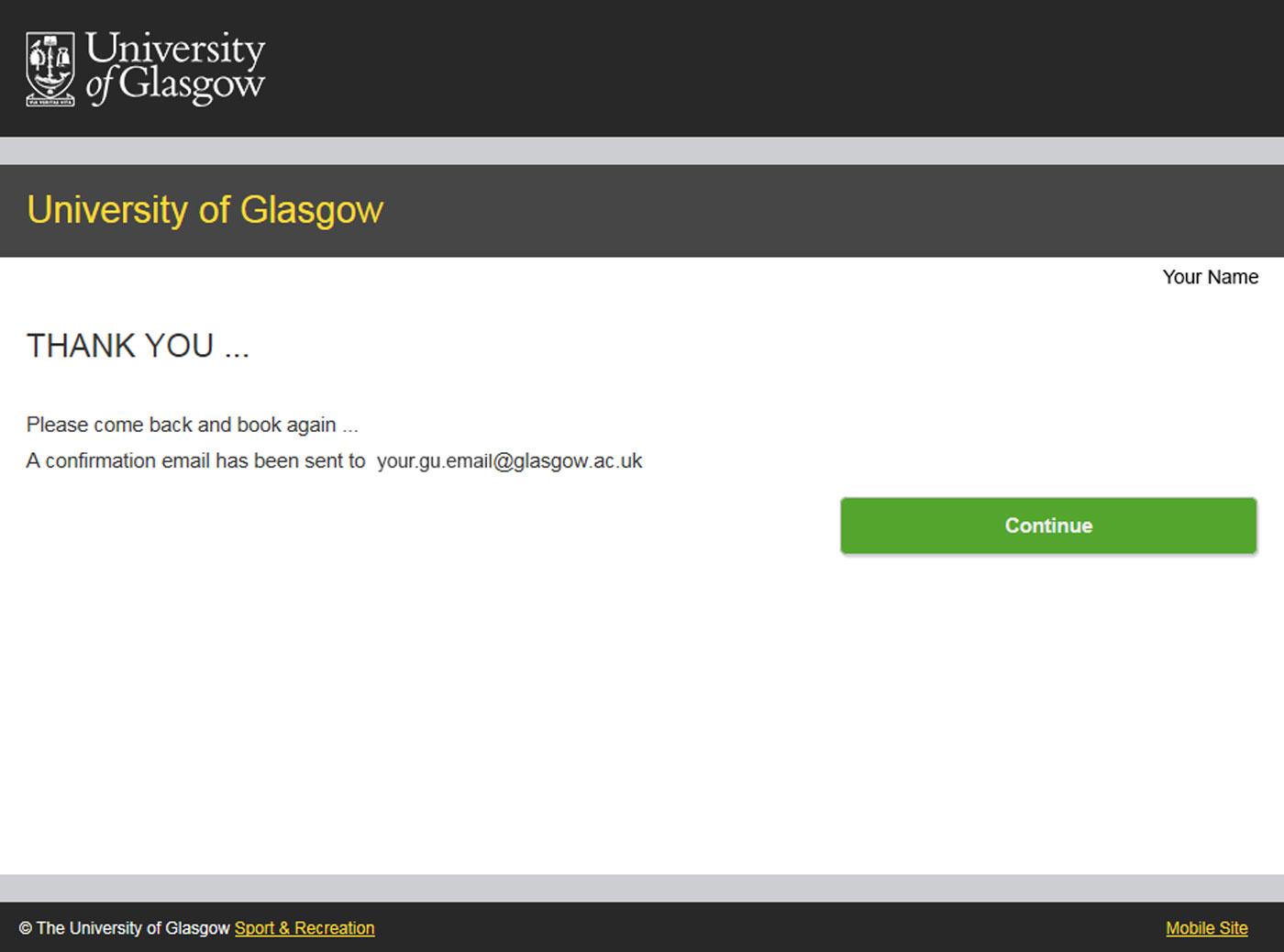 University Of Glasgow - Myglasgow - Sport - Classes Pertaining To University Of Glasgow Schedule A