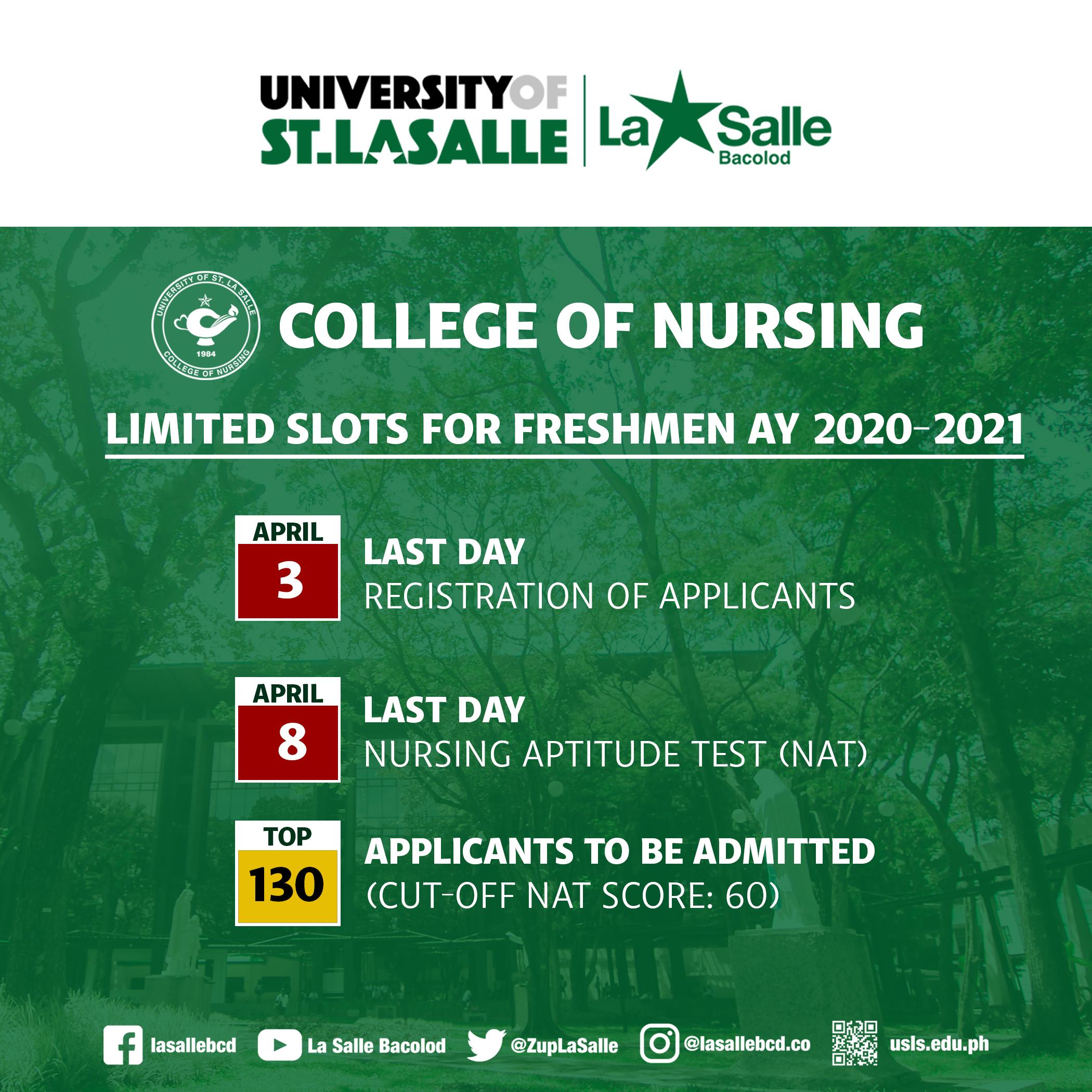 University Of St. La Salle Within Lasalle University Calendar 2021