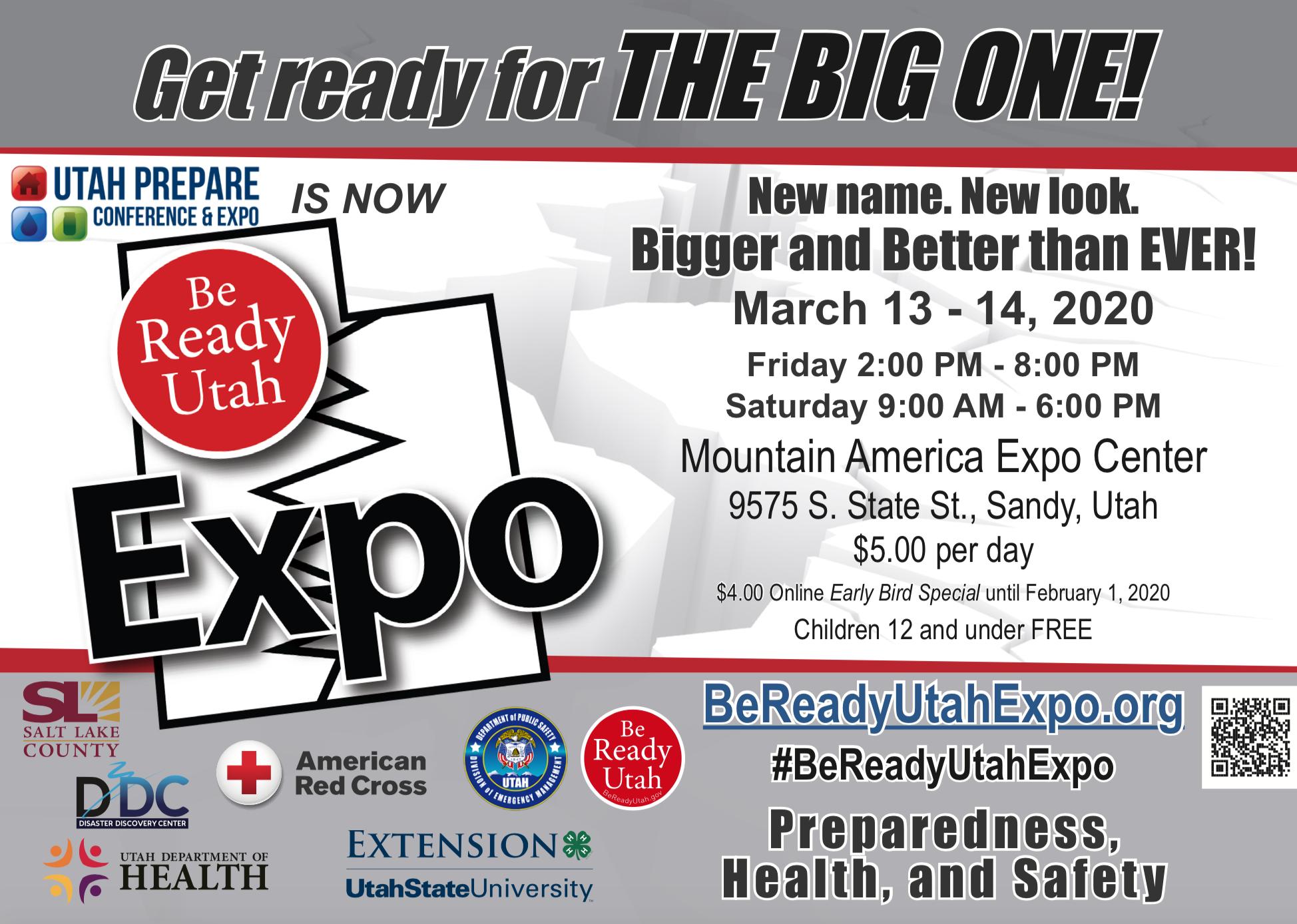 Utah Prepare Conference – Be Ready Utah Within South Town Expo Schedule Utah