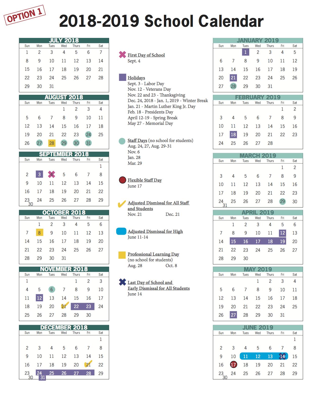 Vbcps E Town Hall - 2018 2019 And 2019 2020 School Calendar Throughout Virginia Beach City Public.schools Calendar