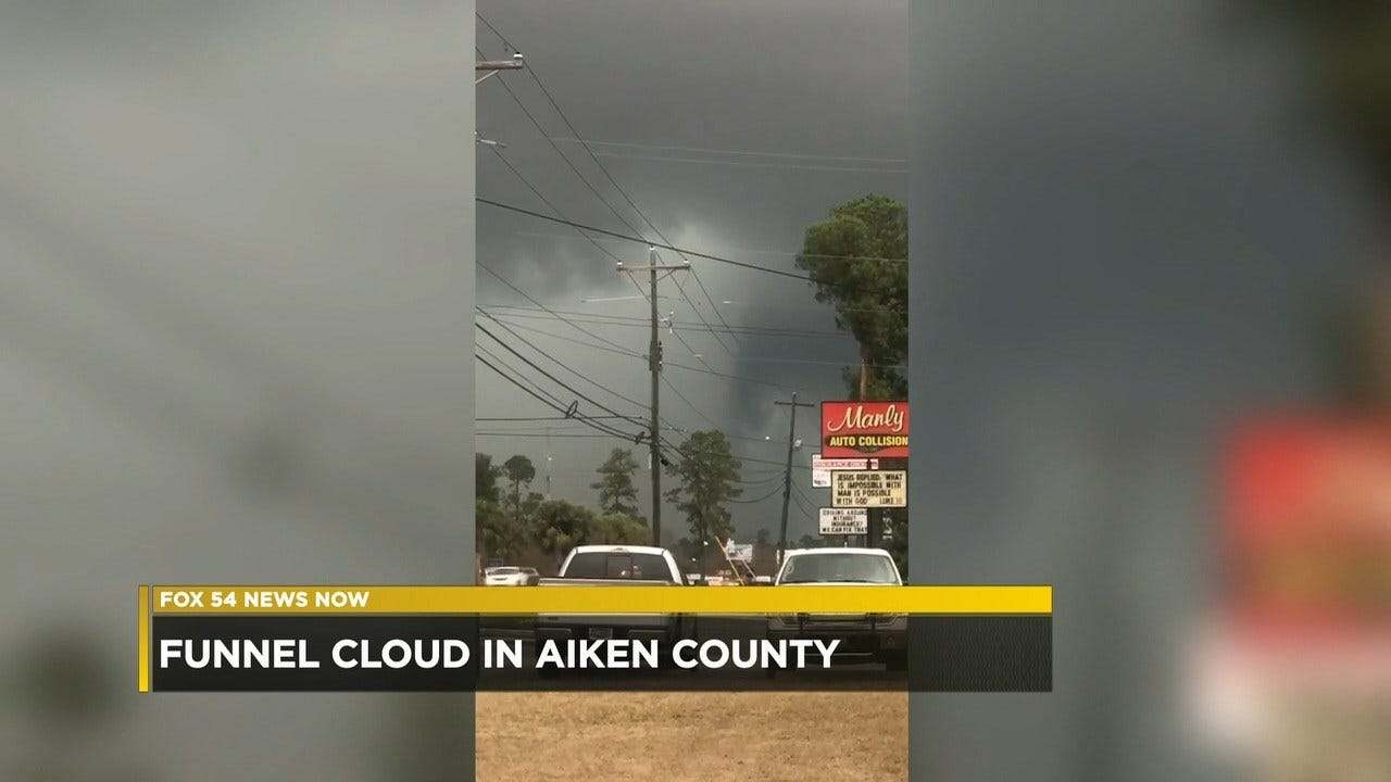 Viewer Captures Stunning Video Of A Funnel Cloud Forming In Intended For Aiken County Schools Calendar