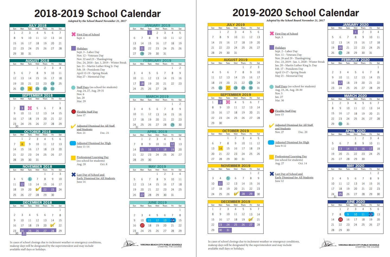 Virginia Beach City Public Schools News Release Within Virginia Beach City Public.schools Calendar