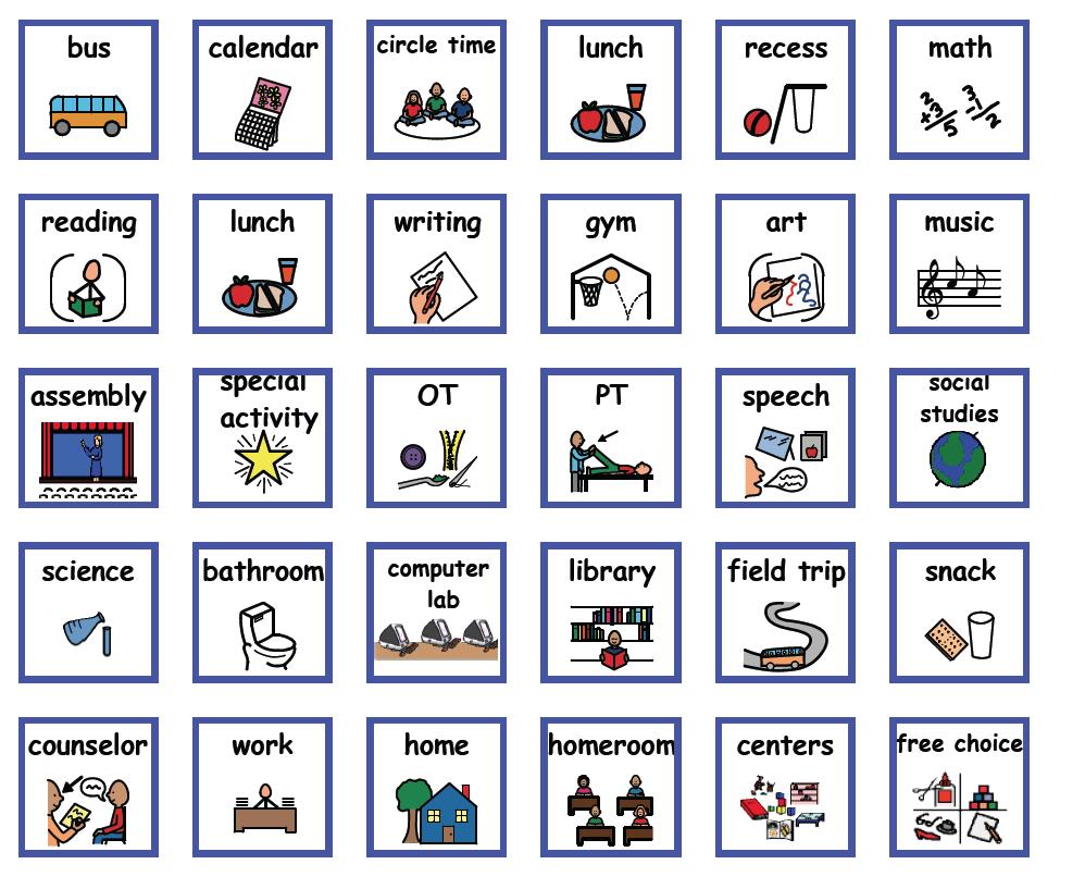 Visual Supports Downloads | Kenosha Unified School District With Kenosha Unified School Calendar