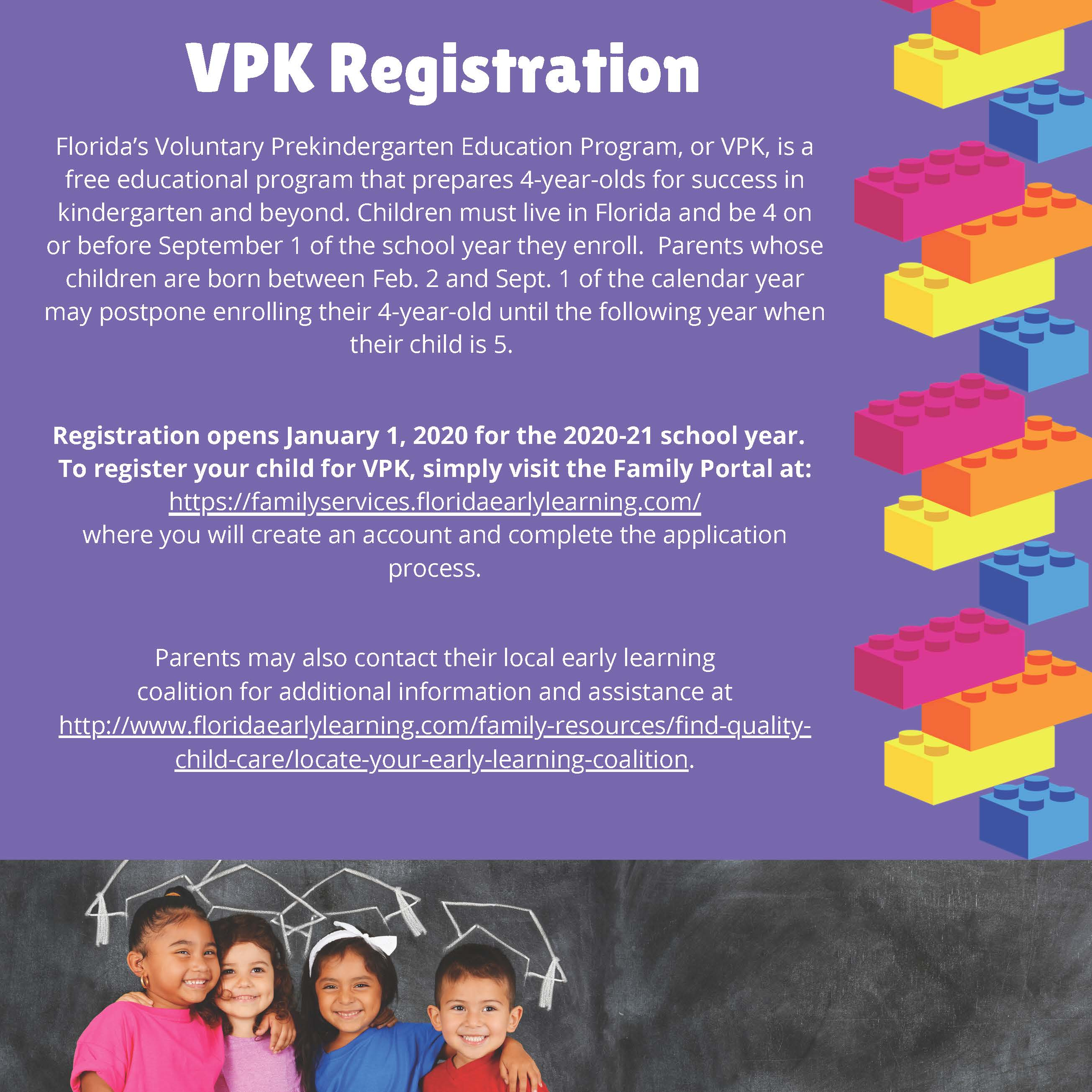 Vpk – Early Learning Coalition Of Marion County, Inc. Regarding School Calendar 2021 2020 Marion County Fl