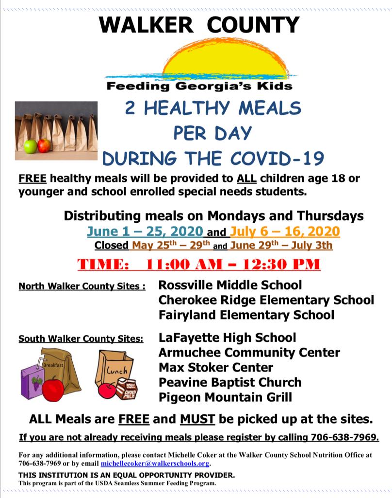 Walker County Schools For Fayette County Georgia Public School Calendar