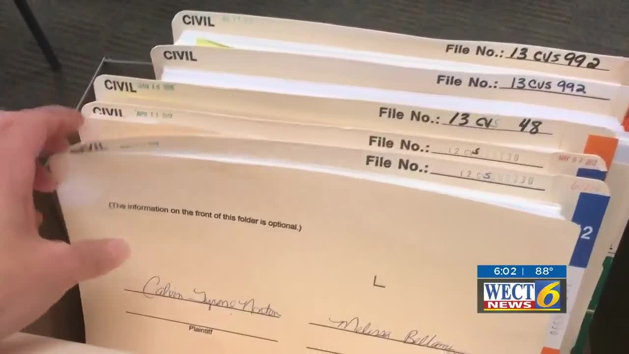 Wect Investigates: Judge's Order Blocks Man From Filing With Nc Courts Defendant Search By Name