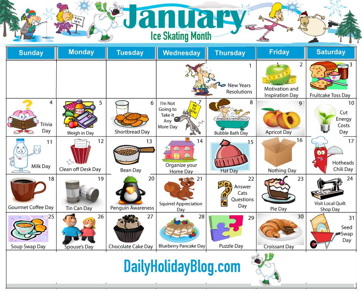 Weird Holidays – Nutheadsarah Inside Everyday Is A Holiday Calendar