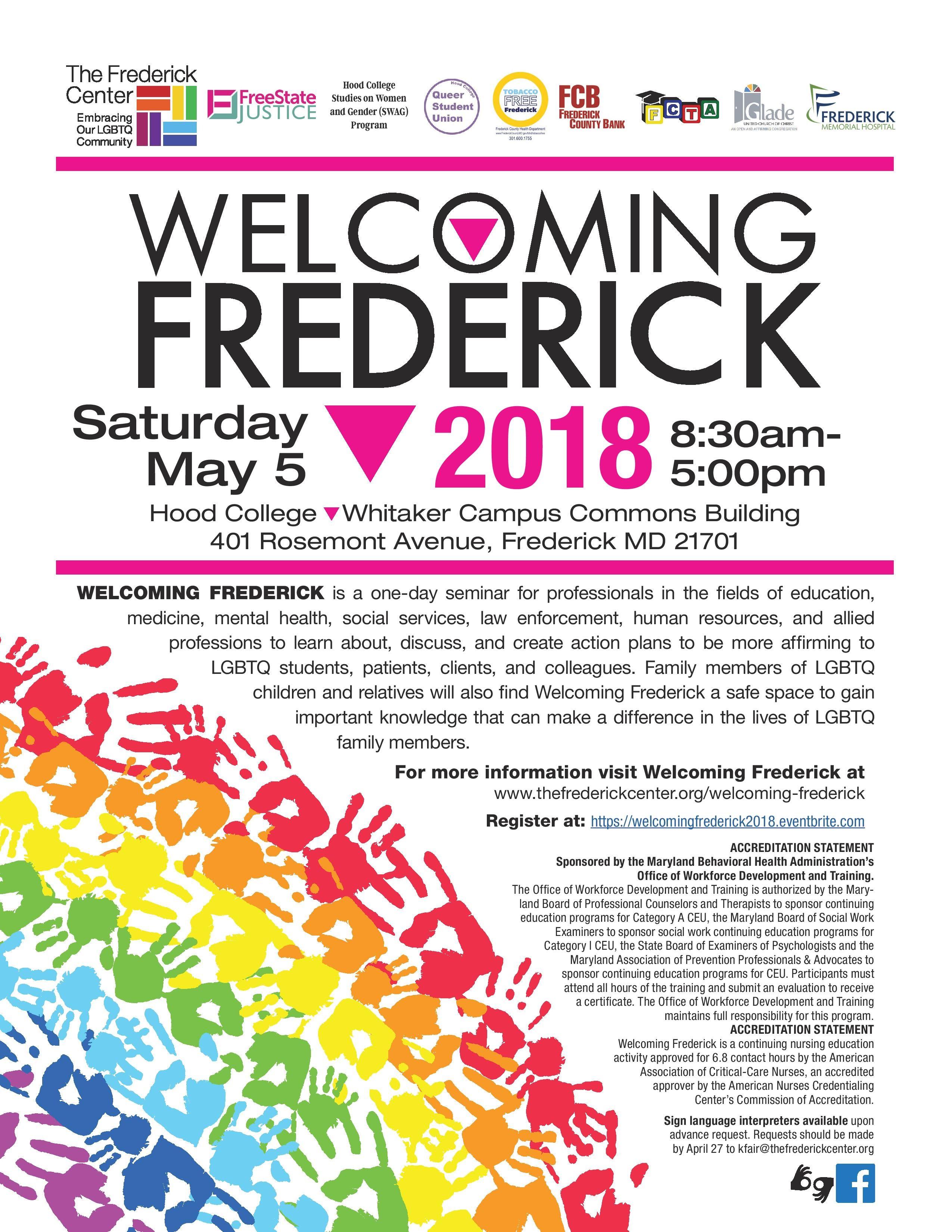 Welcoming Frederick – The Frederick Center Regarding Frederick Md Calendar Of Event