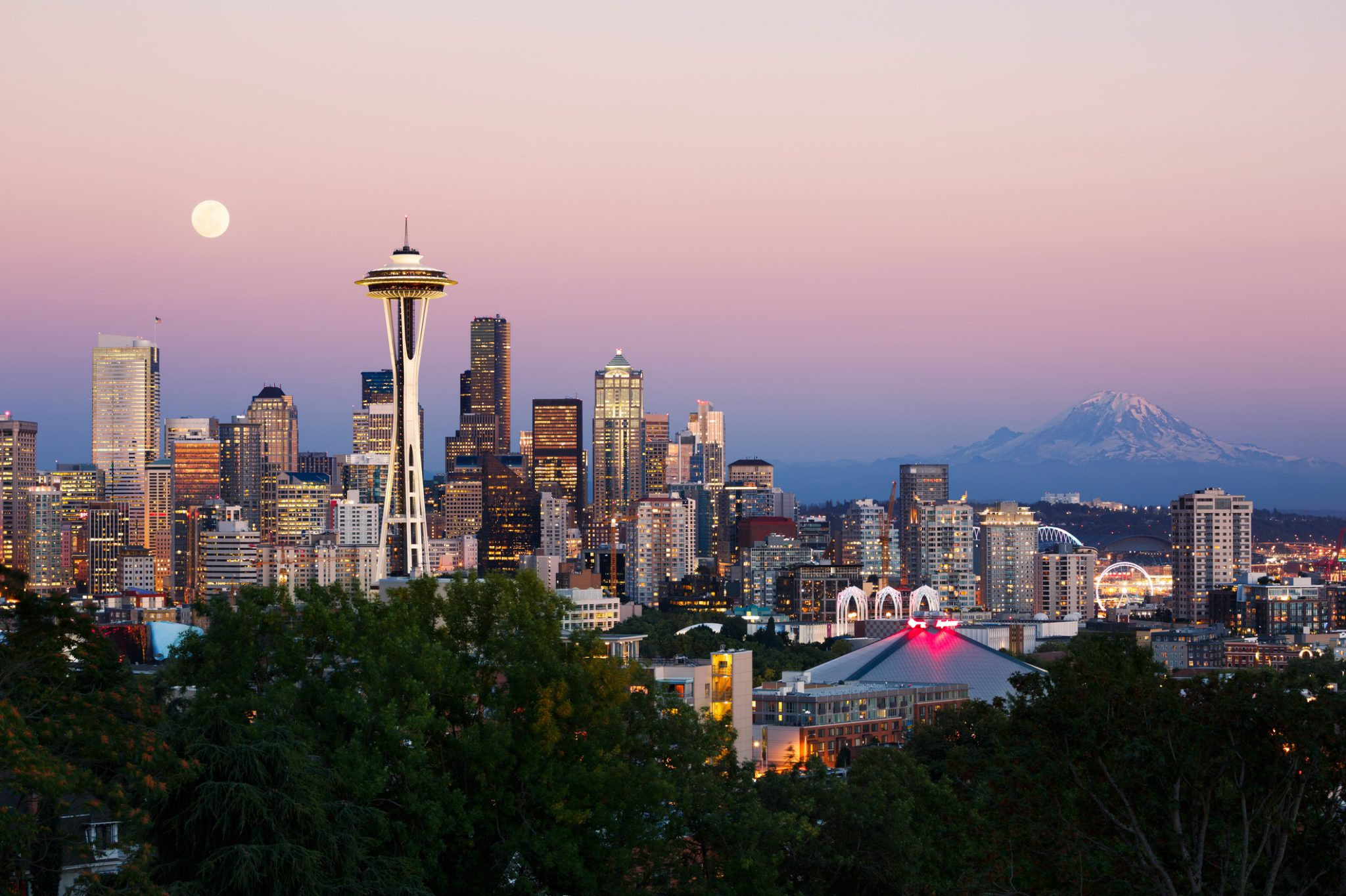 Where To Watch The Sunset In Seattle   Pan Pacific Seattle Intended For What Time Is Sunset In Zip Code 98446