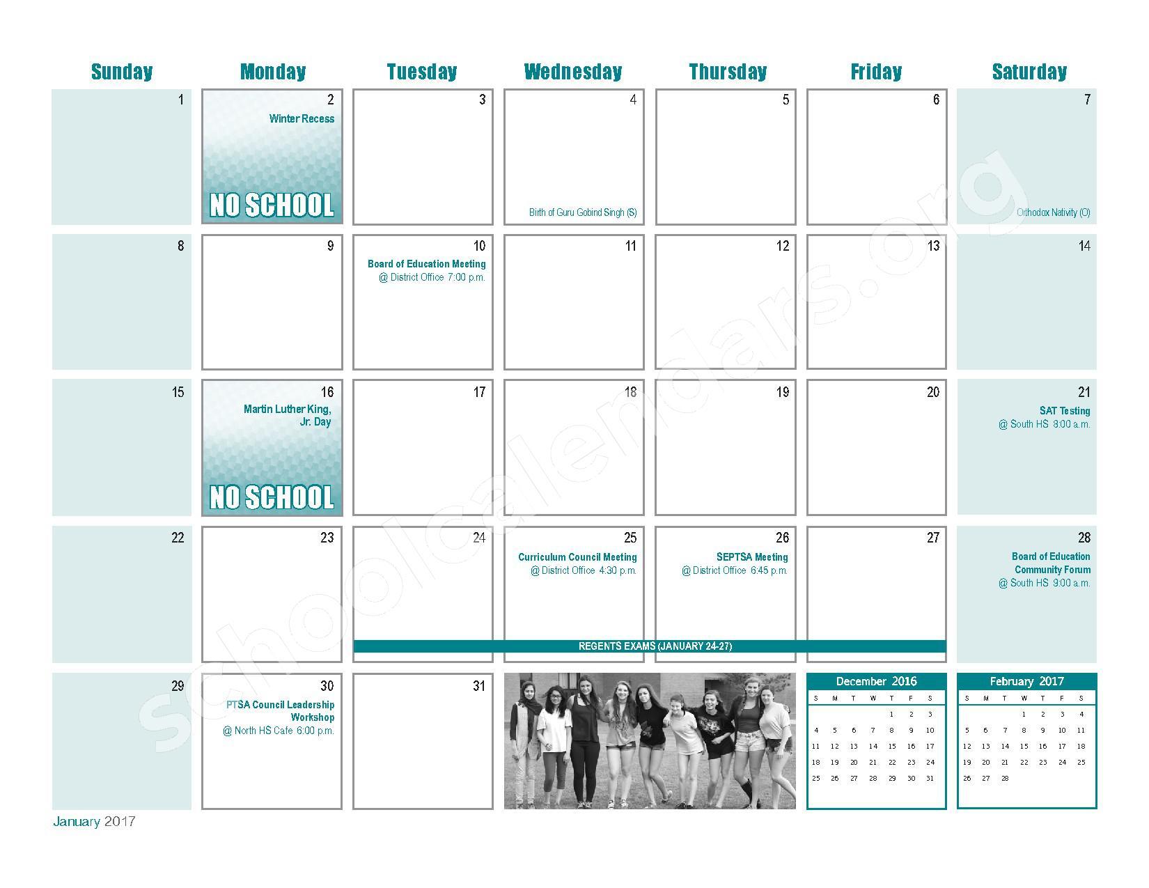 Williamsville Central School District Calendars – East within Williamsville Ny School Calendar