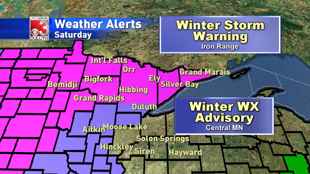 Winter Storm Warning This Weekend For Minnesota Inside Sixth Judicial Circuit Calander St.louis County Hibbingmn
