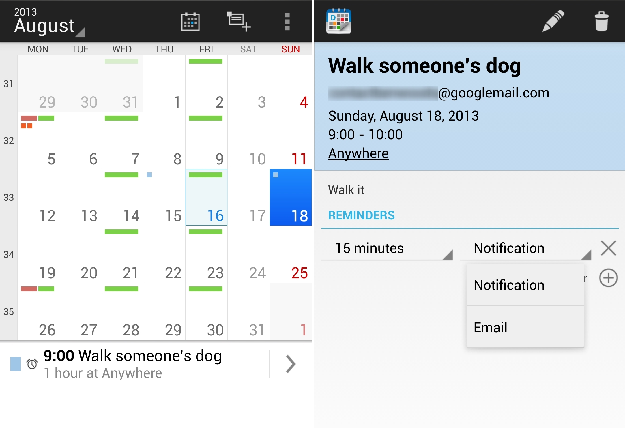 12 Of The Best Calendar Apps Available For Your Android Throughout Yahoo Calendar App Android