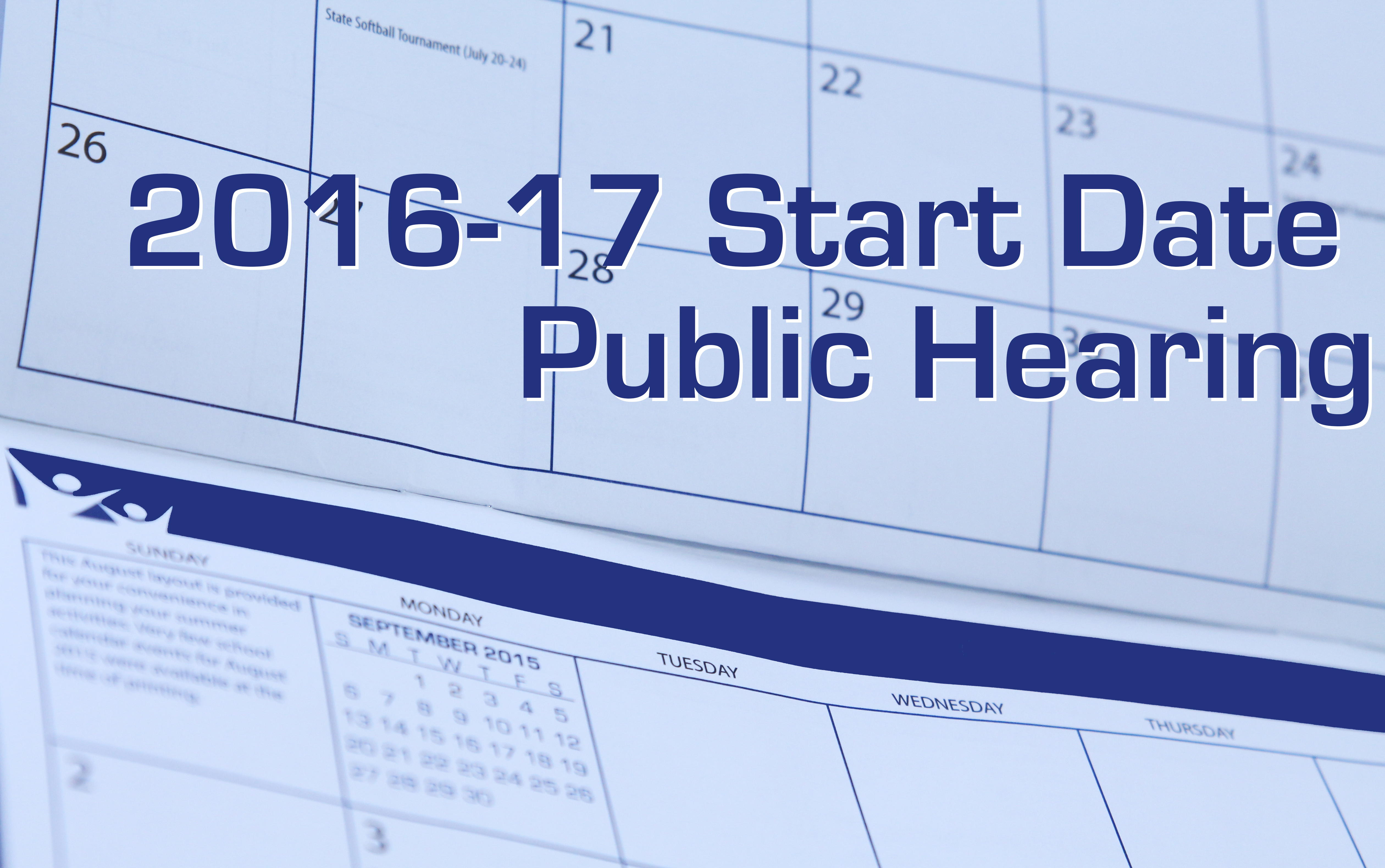 2016 17 Calendar Public Hearing Oct. 26 - West Des Moines Intended For Des Moines Schools Calendar