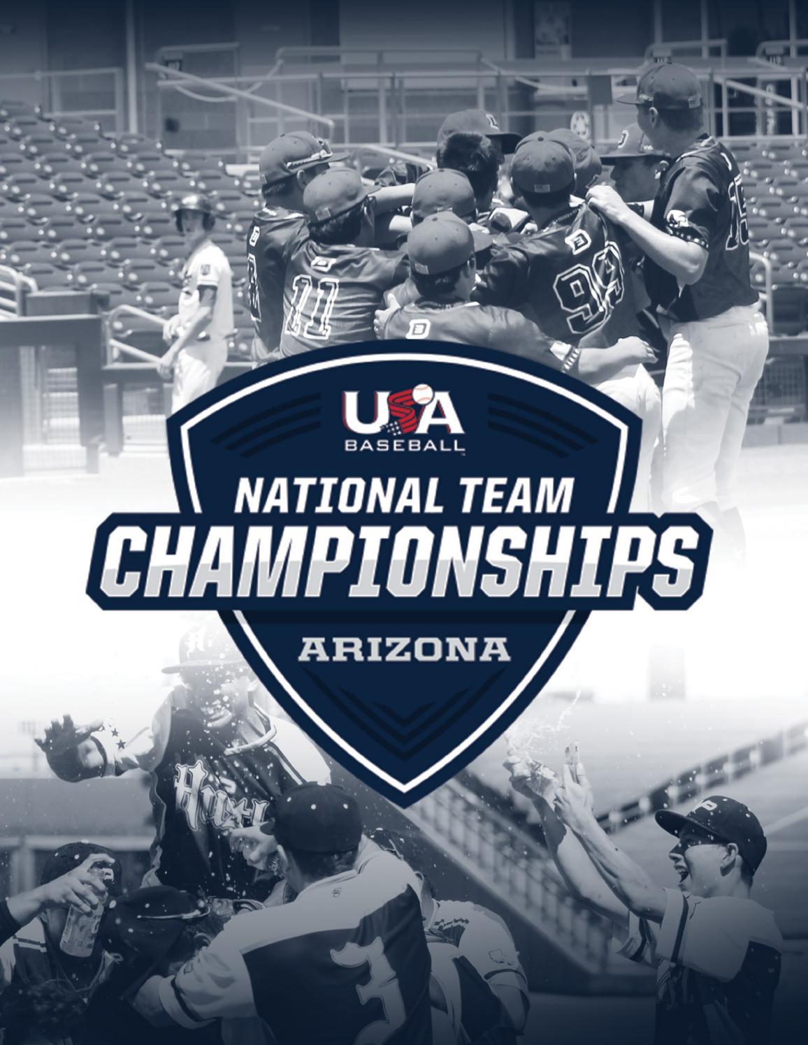2019 Usa Baseball National Team Championships (Arizona Within Lodi Unified School District Calendar 2021 20