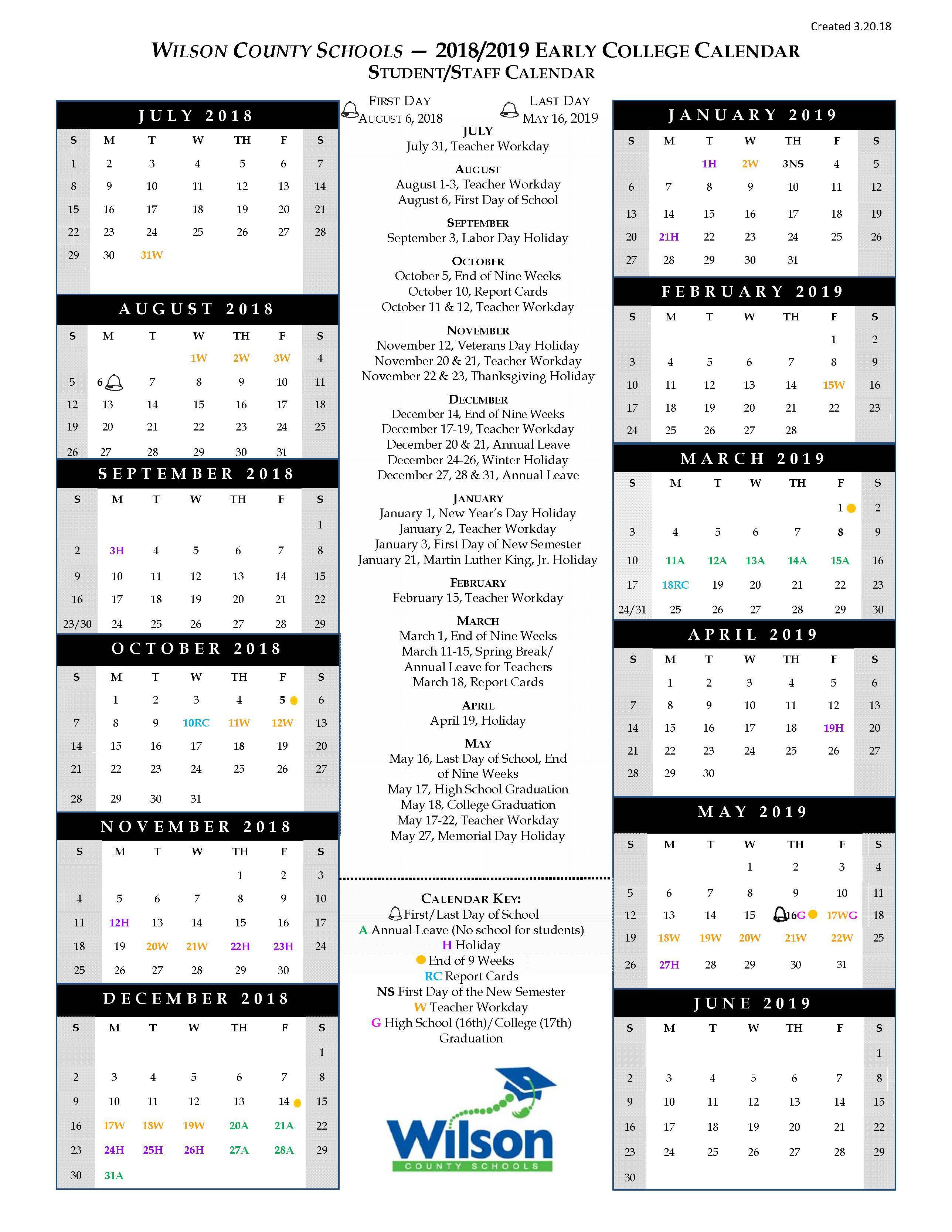 2019 Waat Student Application – Forms & Documents – Wilson With Wilson Nc Schoold Calendar