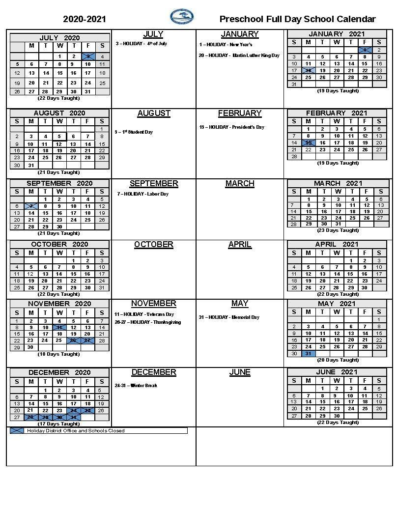 2020 21 School Calendars – Academic Calendars – Monterey Inside Salinas Union High School District Calender