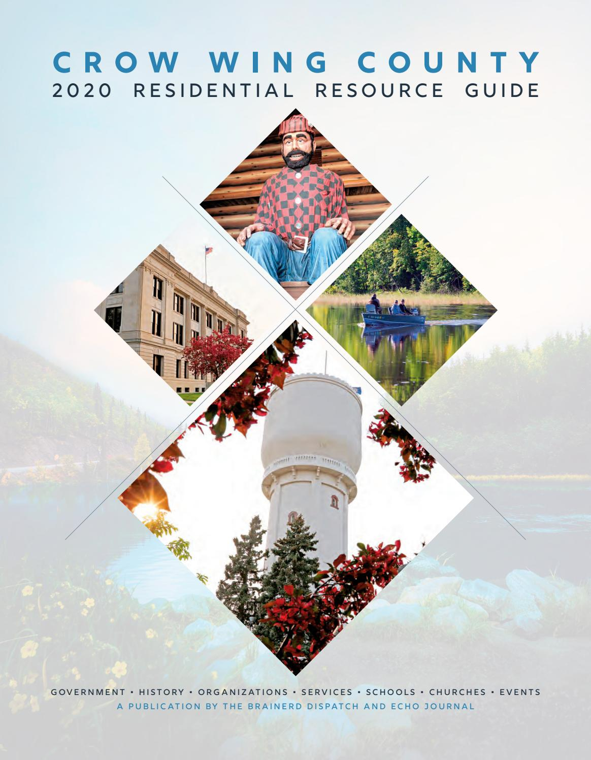 2020 Crow Wing County Residential Resource Guidebrainerd With Crow Wing County Court Calendar