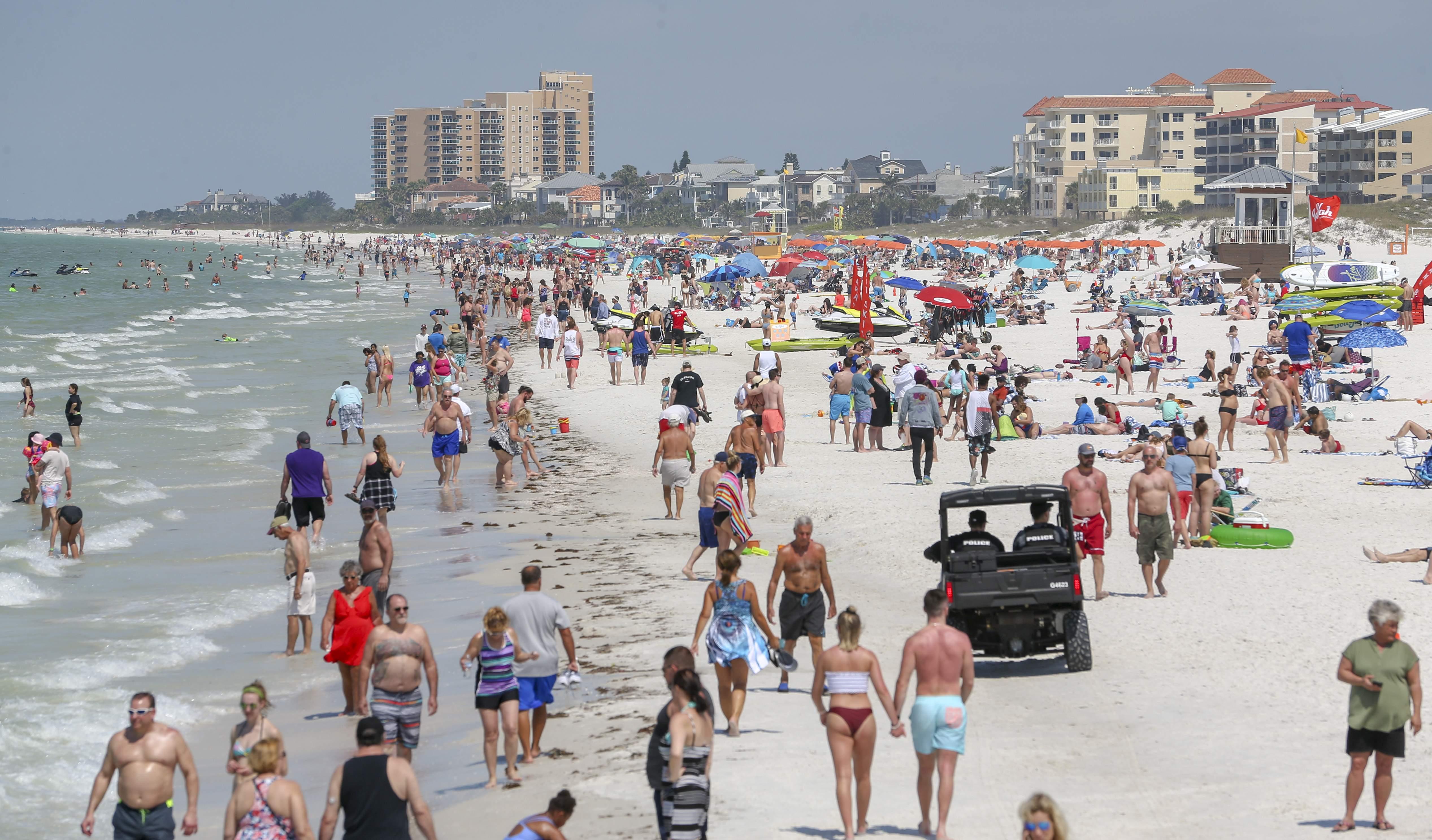 Brutal Winter Brings Spring Breakers To St. Pete Beach And Within Tampa University Spring Break
