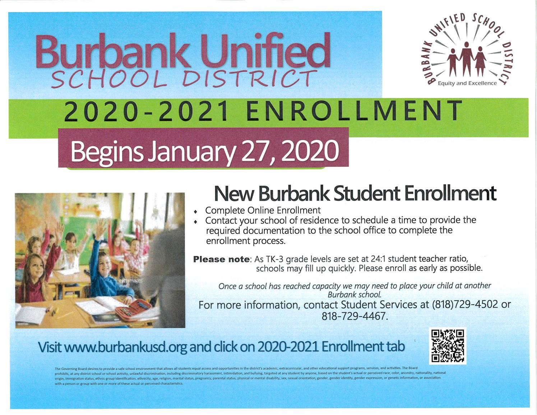 Burbank Unified School District / Homepage Within Burbank Unified School District Calendar 2021