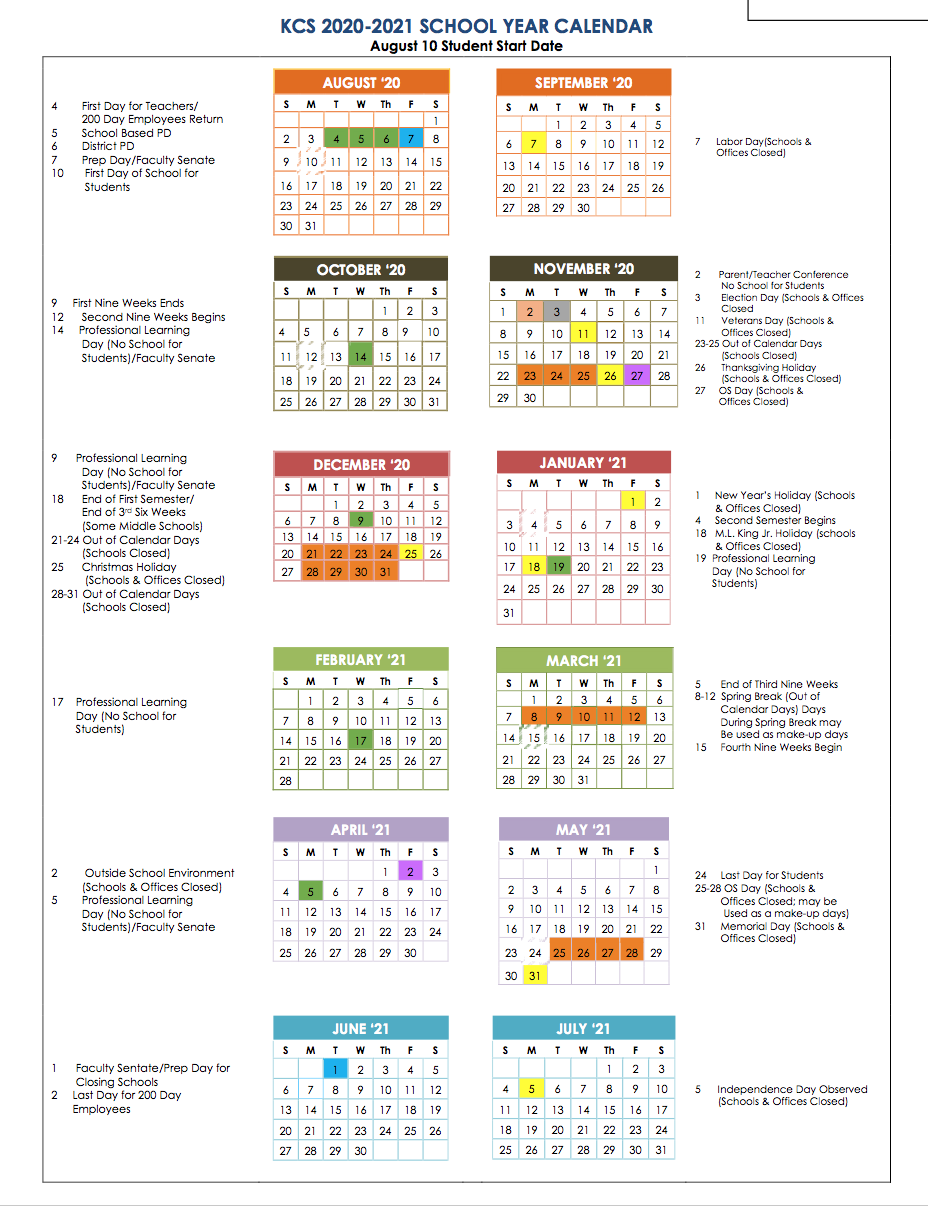 Calendar - Richmond Elementary Intended For Richmond Countyboard Of Education 2021 Calendar