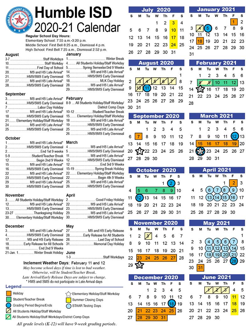 Calendars / Dates / District Calendars/dates In Houston Countyboard Of Education Calendar 2021