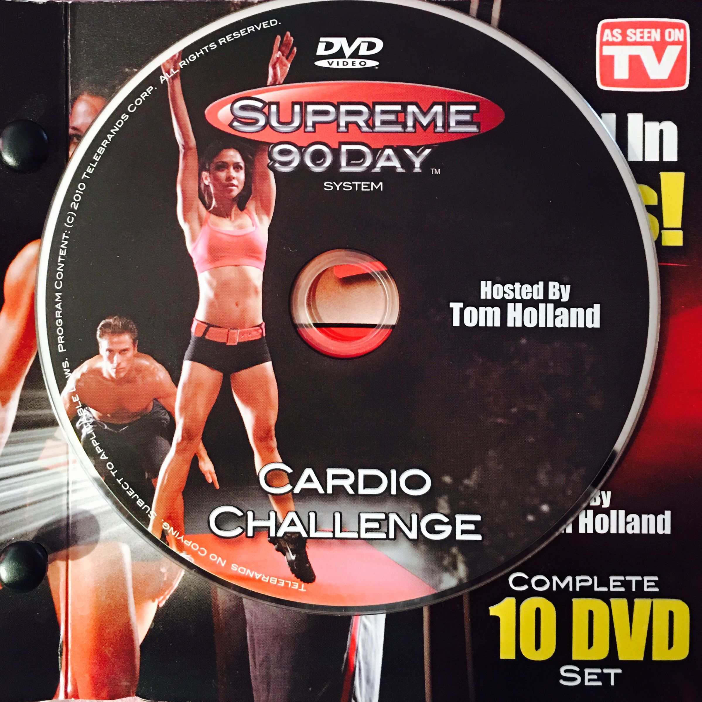 """Cardio Challenge. **supreme 90Day System, """"get Ripped In In 90 Day Supreme Workout Calendar"""