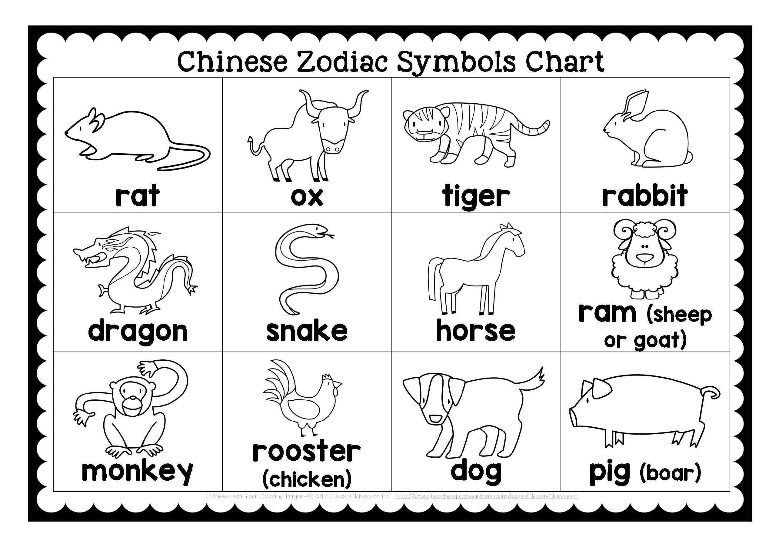 Coloring : Calendar Pages Printable For Kids Christmas Intended For Printable Chinese Calendar Shwing Year Of Different Animals