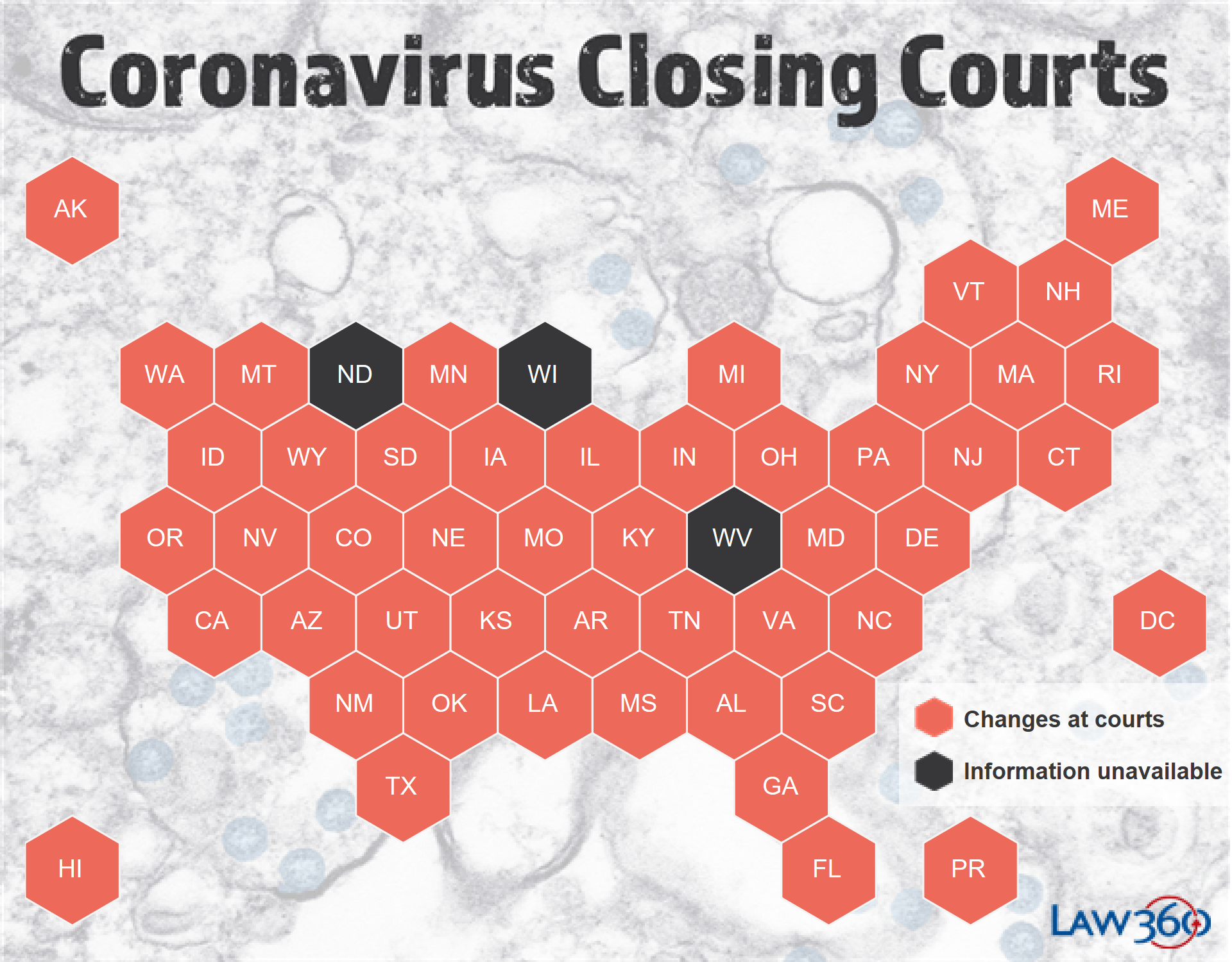 Coronavirus: The Latest Court Closures And Restrictions - Law360 With Washington County Mn Court Caledar