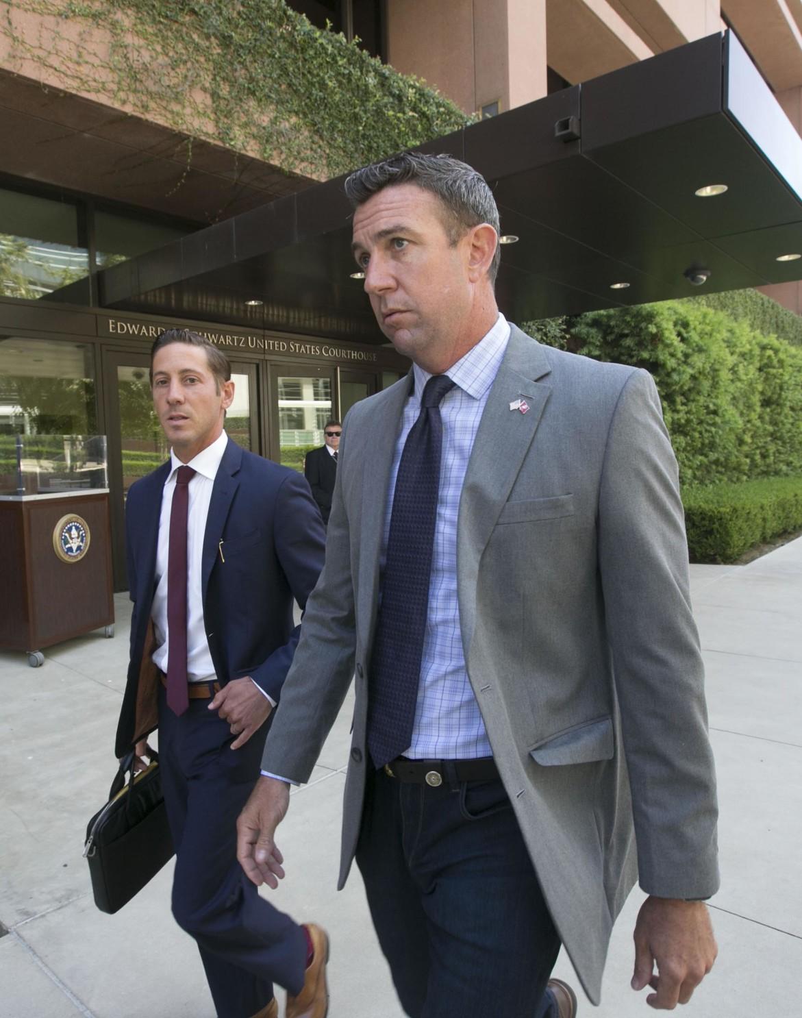 Delay In Rep. Duncan Hunter's Criminal Case Puts Crimp In In San Diego Court Calendar