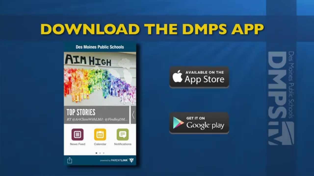 Dmps Mobile App – Download Today! – Des Moines Public Schools Intended For Des Moines Schools Calendar
