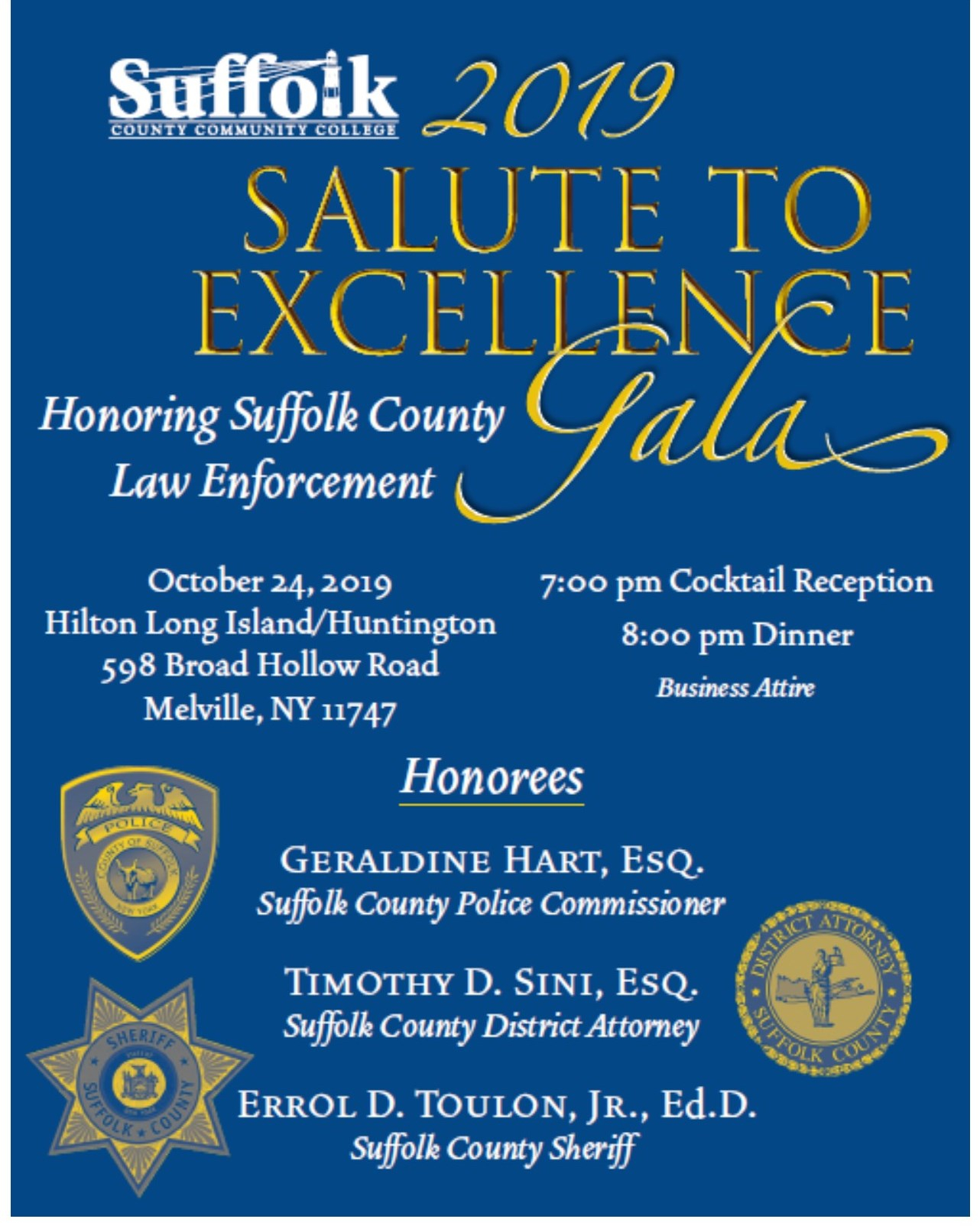 Foundation Events Salute To Excellence – Suffolk Community Within Suffolk Community College Academic Calendar