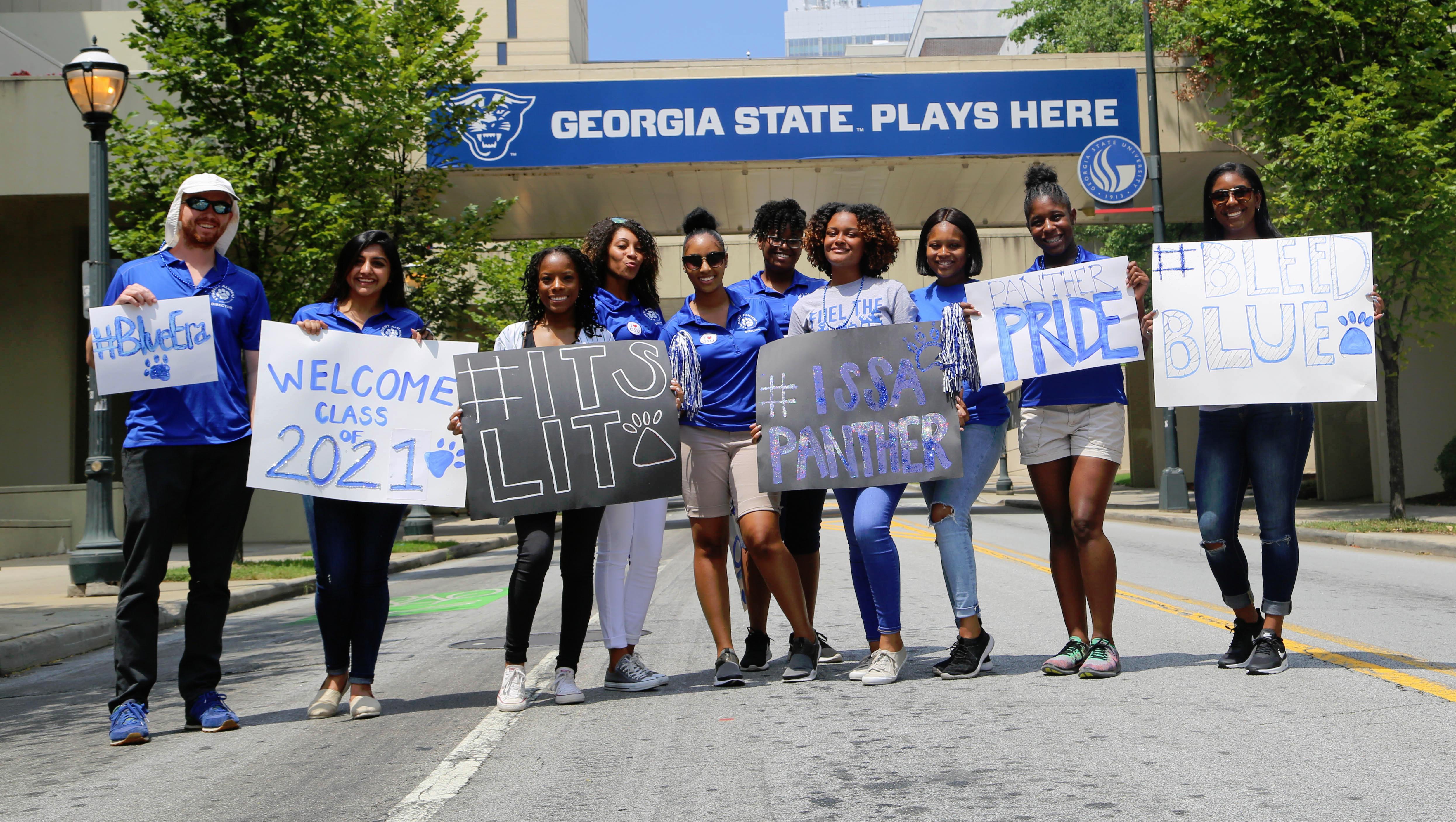 Gsu Alumni Association - Student Alumni Association With Georgia State University Summer 2021