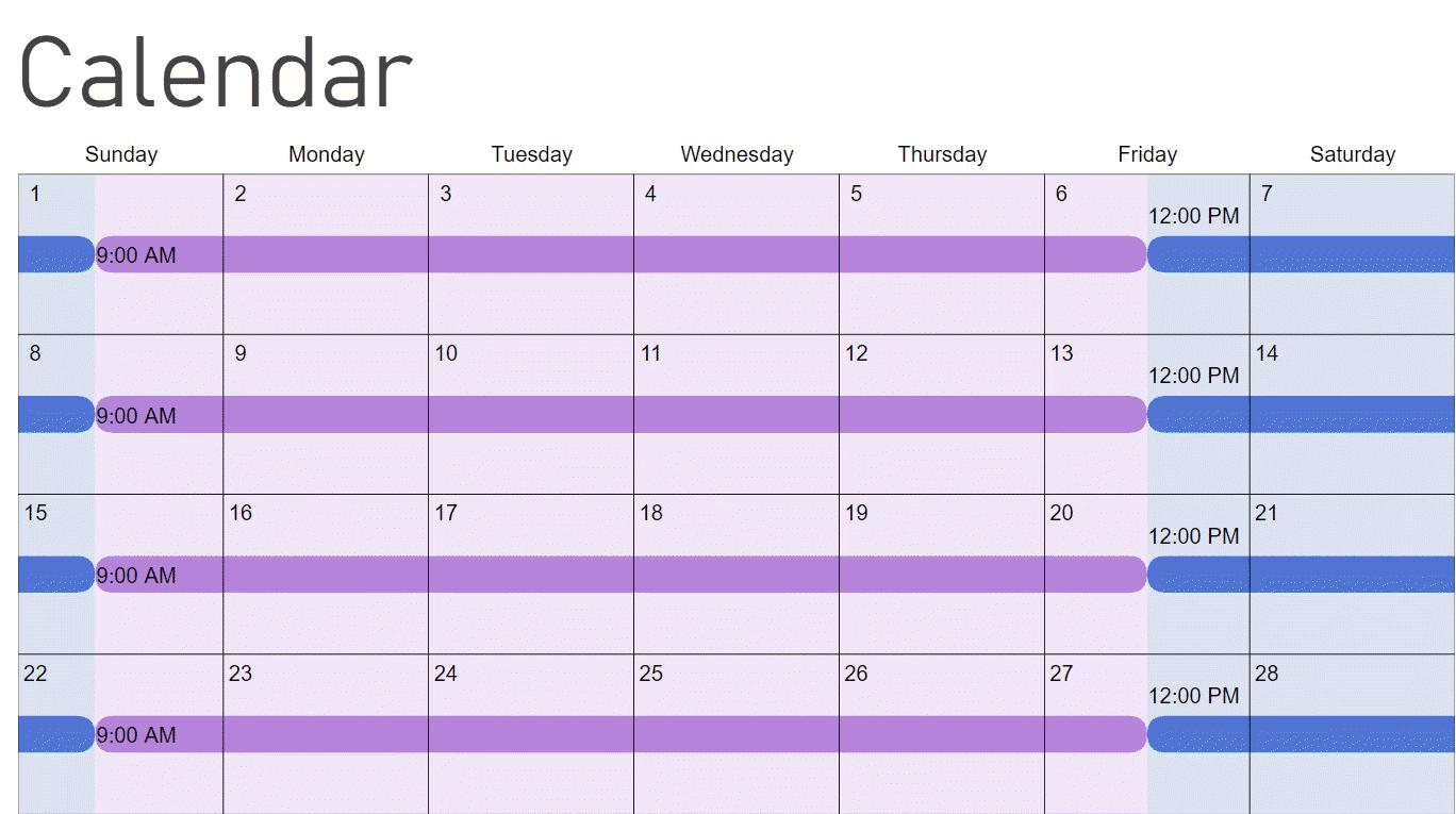How To Make A Child Custody Calendar: Create & Print Easily With Regard To San Diego Court Calendar