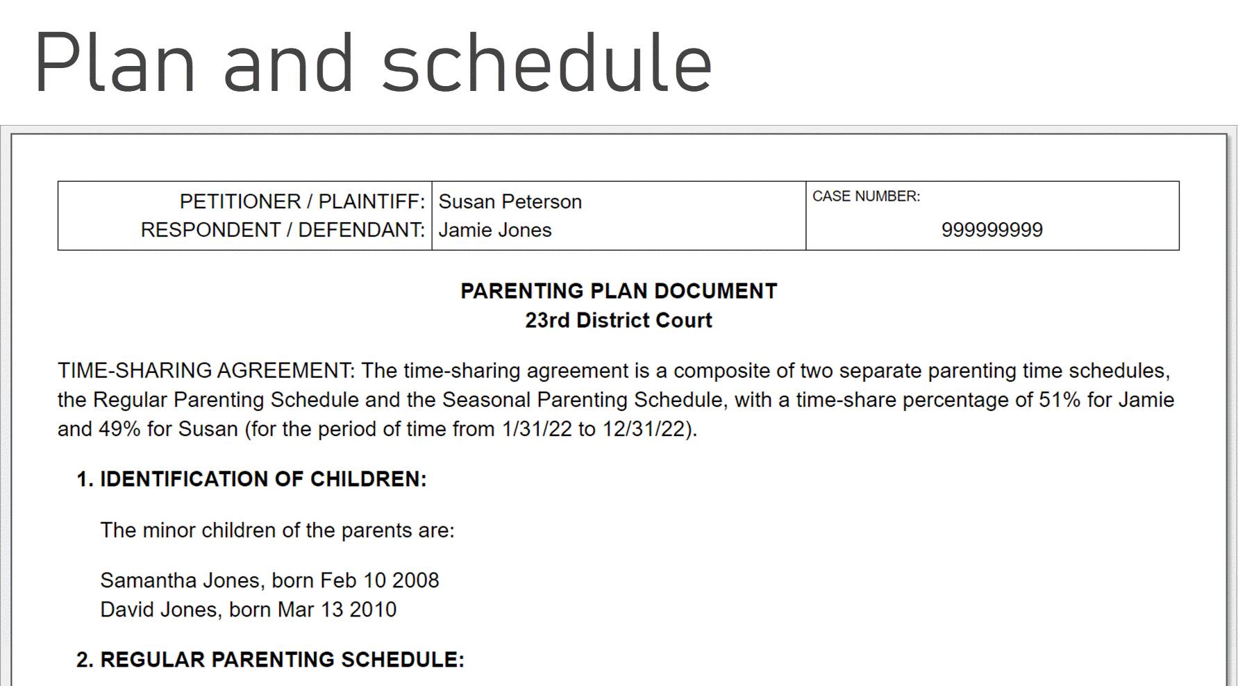 How To Make A Child Custody Calendar: Create & Print Easily With San Diego Court Calendar