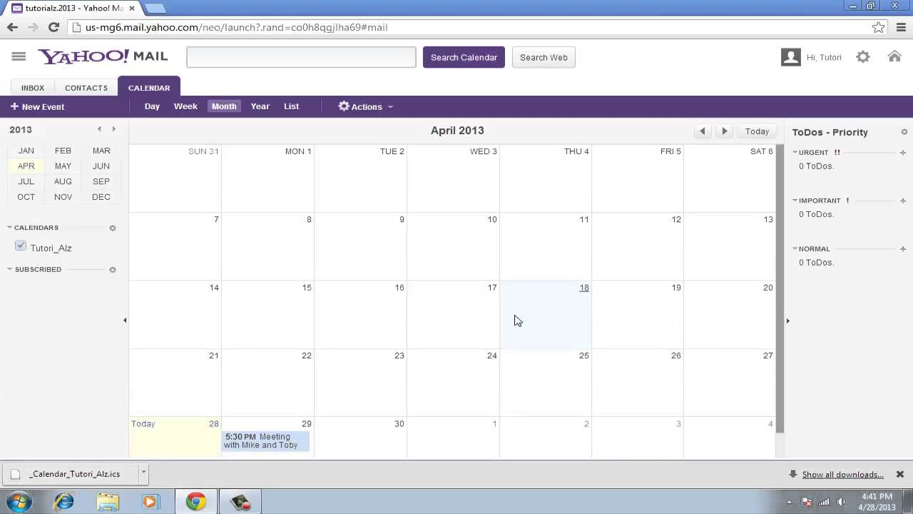 How To Switch From Yahoo Calendar To Google Calendar intended for Yahoo Calendar App Android