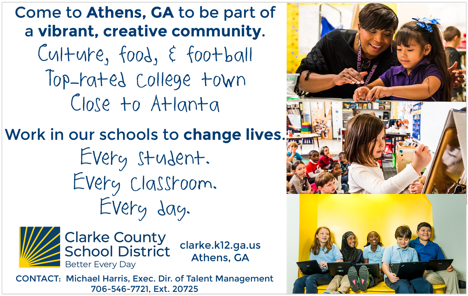 Human Resources & Information Support Services / Jobs At Ccsd Pertaining To Athens Clarke County School Schedule