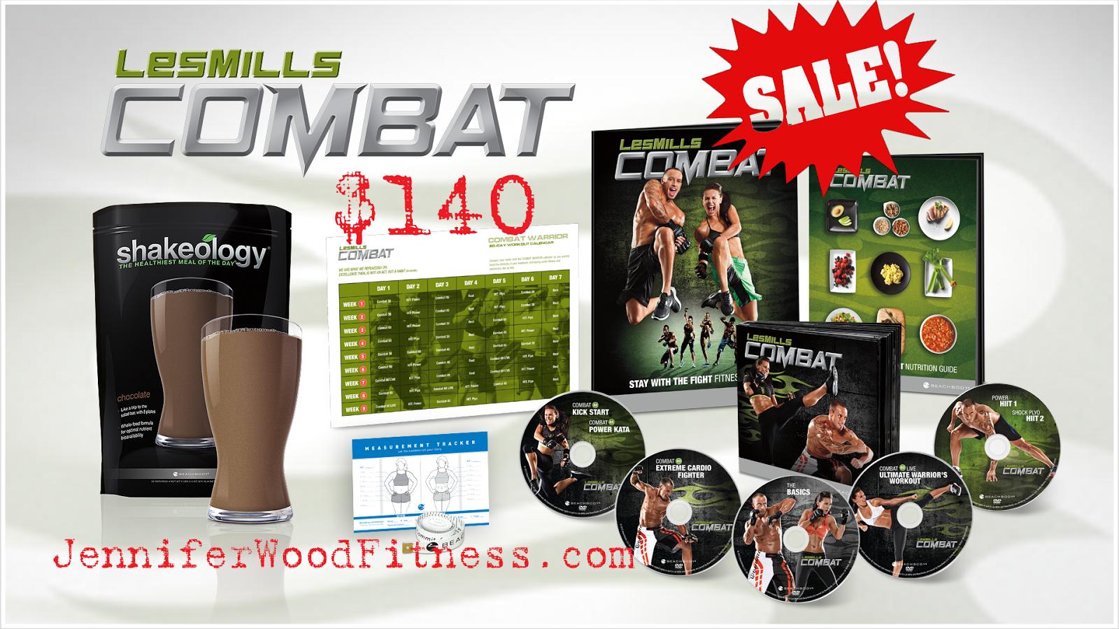 Jennifer Wood Fitness : Beachbody Les Mills Combat Discounted Inside Les Mills Combat Ultimate Warrior Schedule